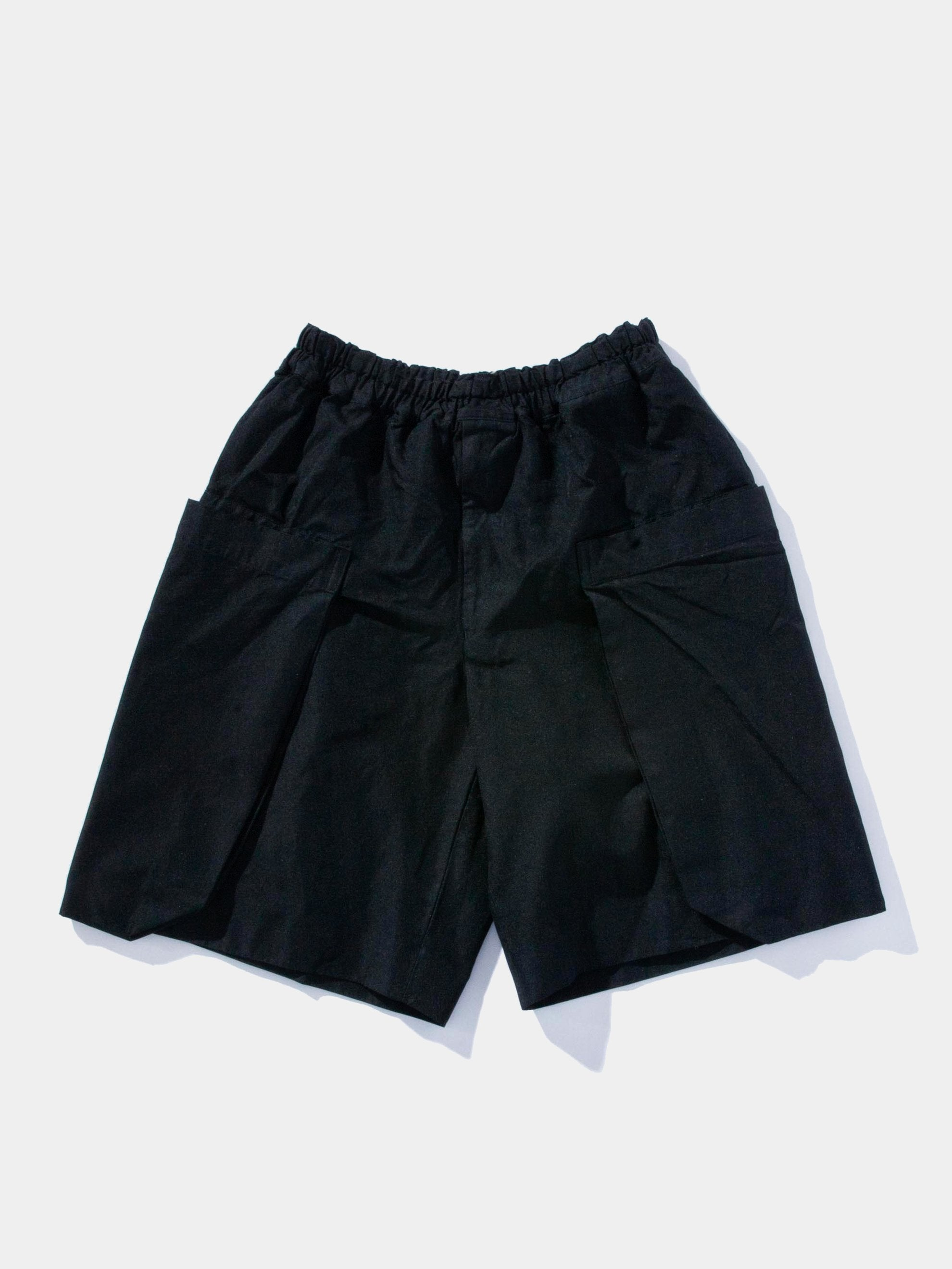 Boiled Poly Cargo Shorts