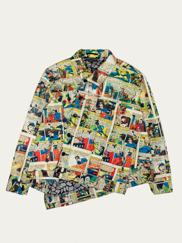 Twisted Comic Strip Jacket