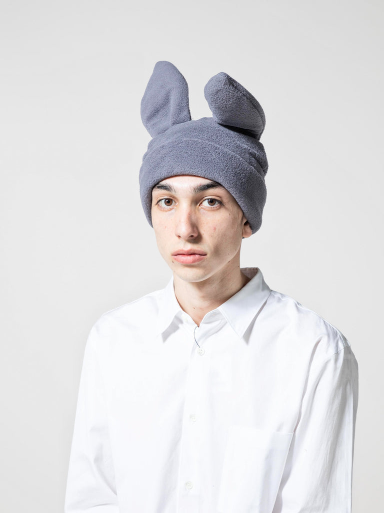 Red Bunny Ears Woven Beanie 413571767697485
