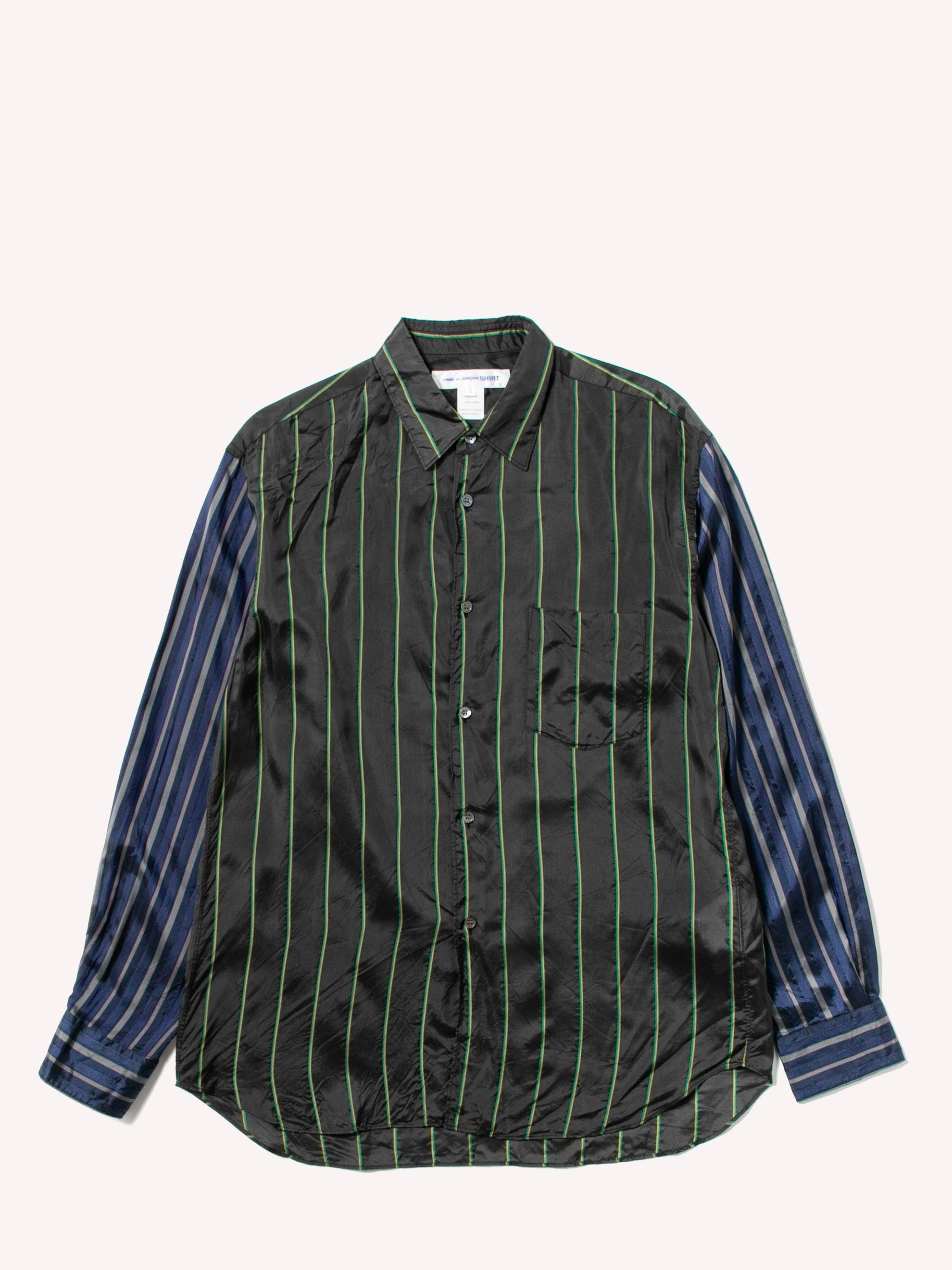 Constrast Stripe Shirt