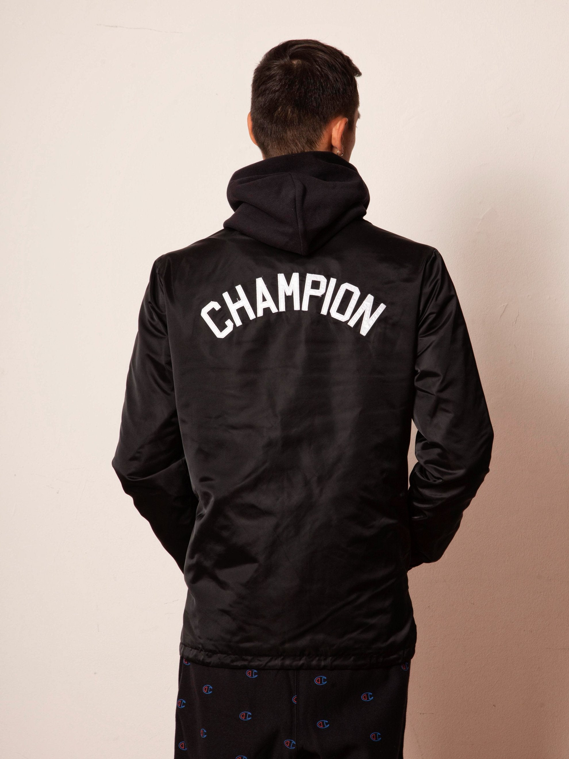 Buy Champion Reverse Weave Coach Jacket Online At Union Los Angeles