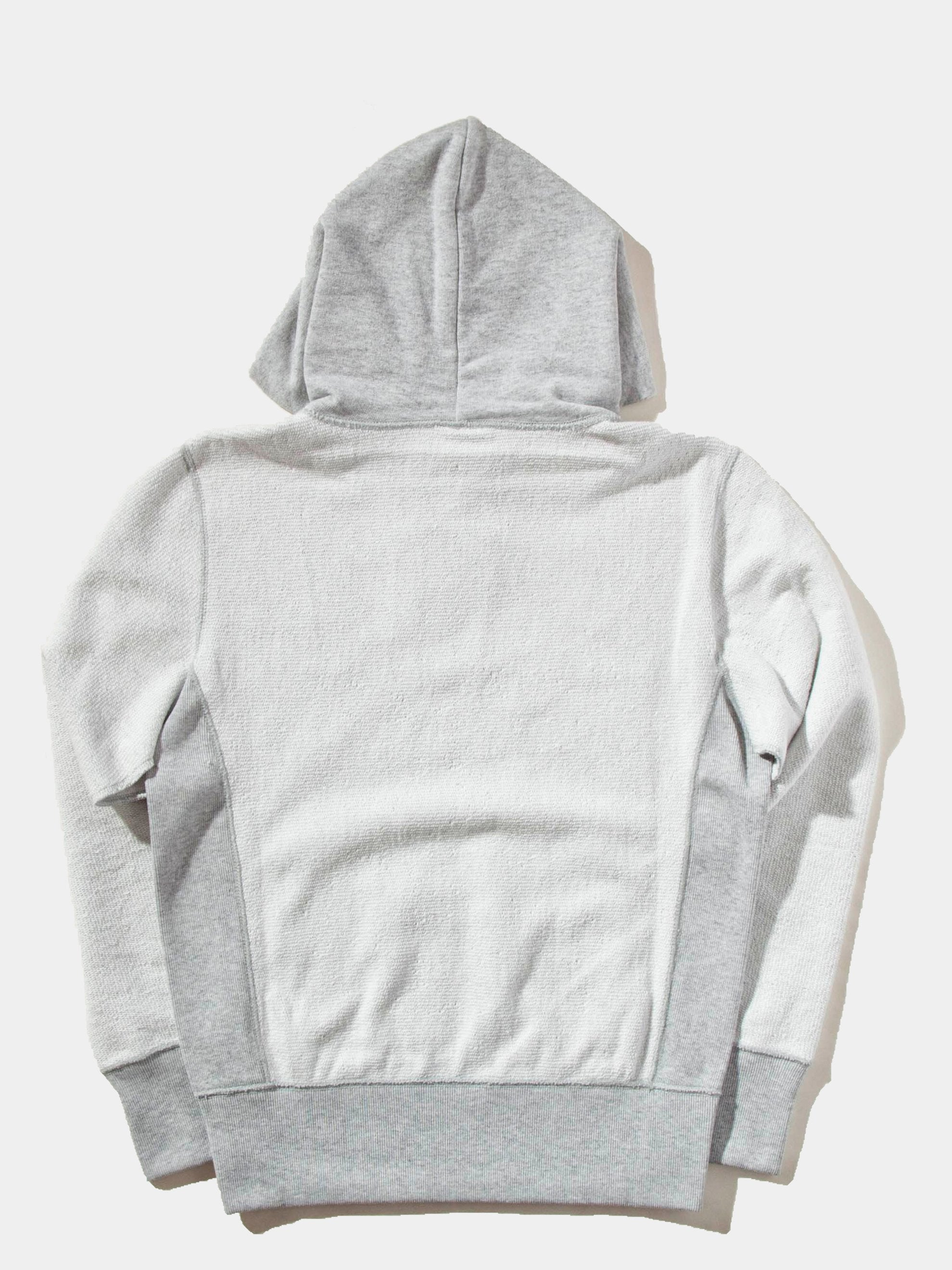 Reverse Fleece Hooded Sweatshirt