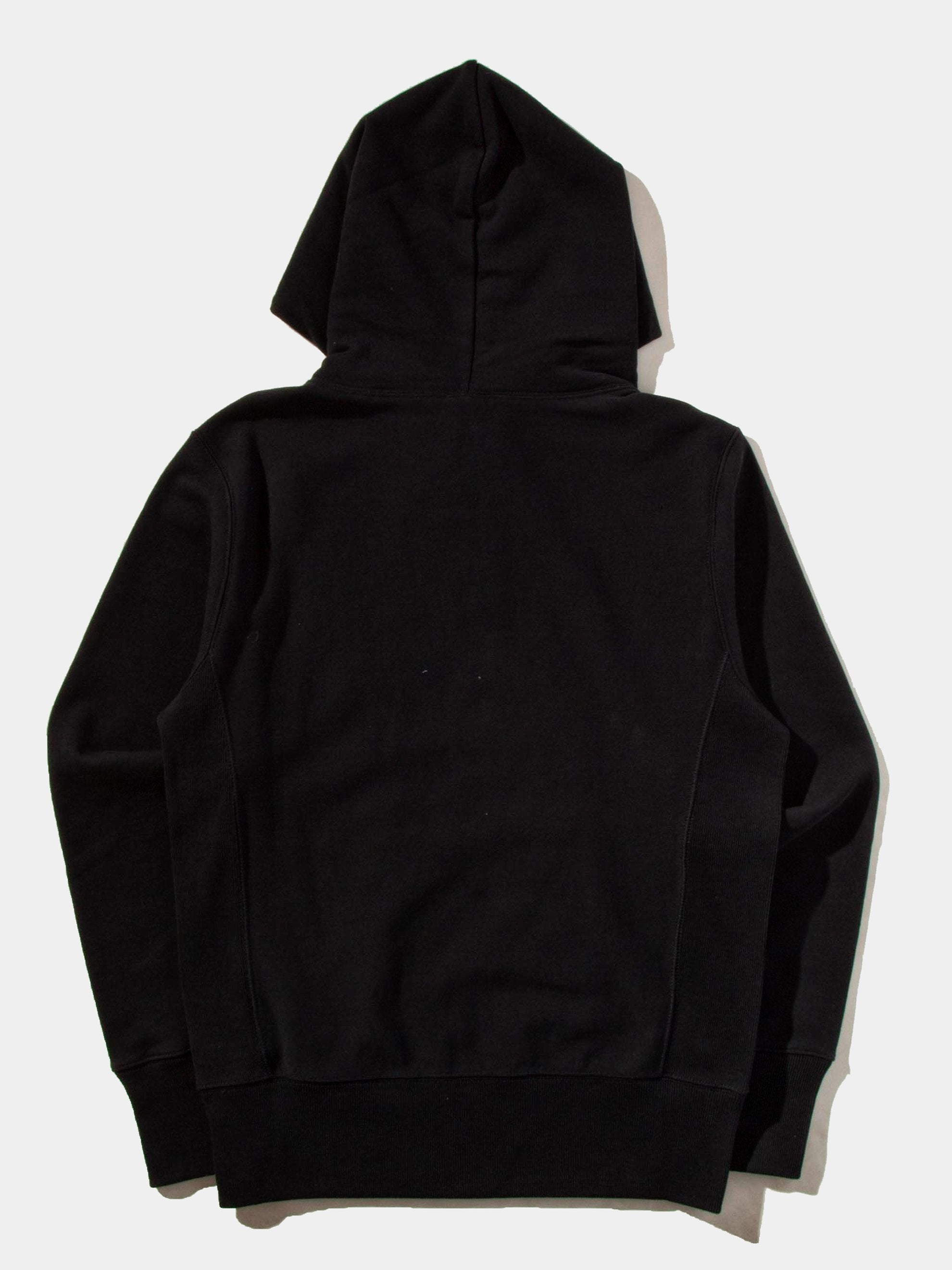 Black Hooded Sweatshirt 11