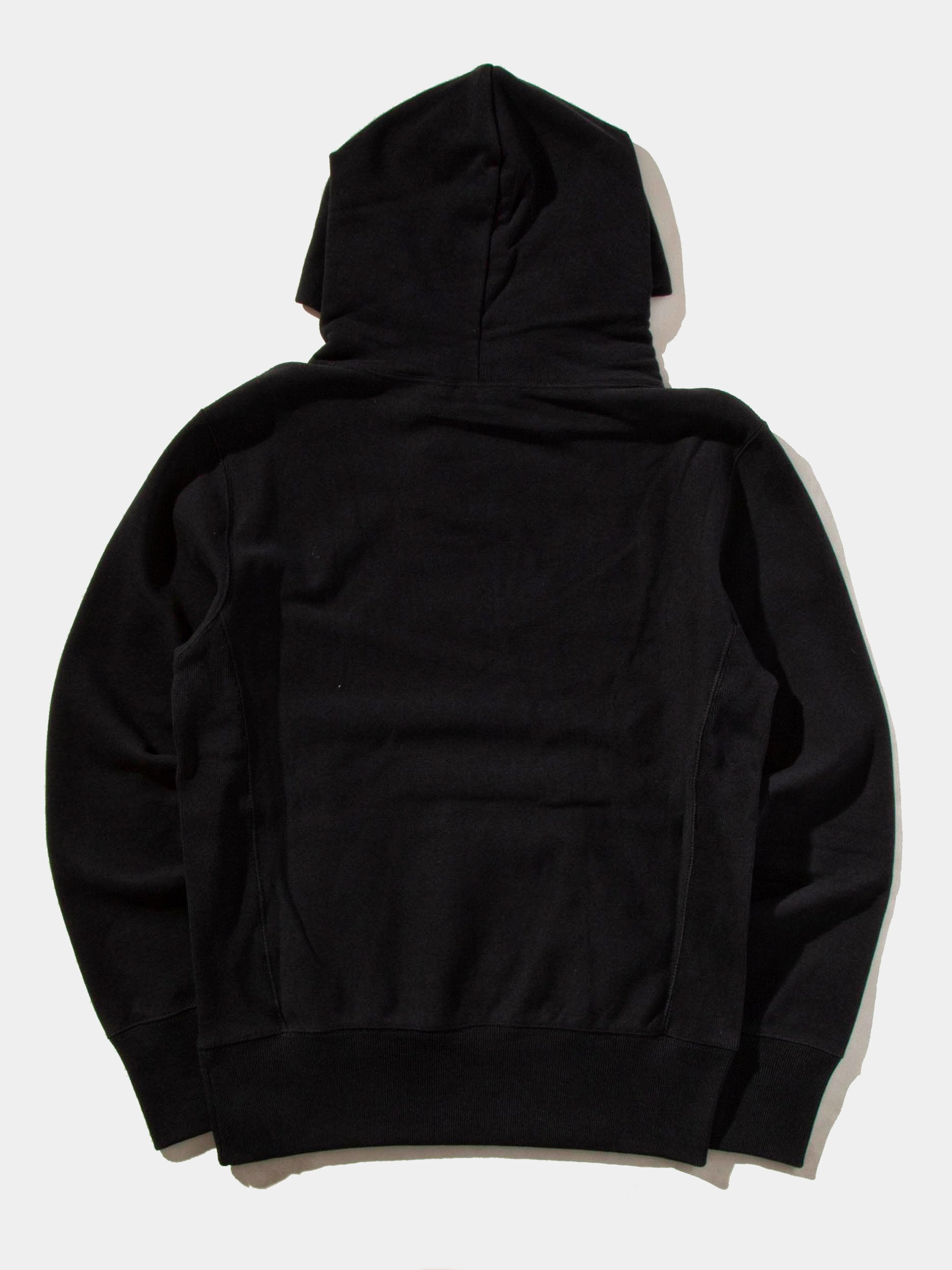 Black Logo Hooded Sweatshirt 10