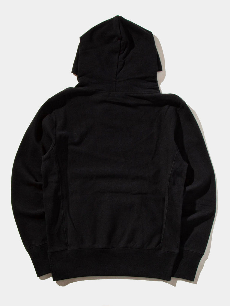 Black Logo Hooded Sweatshirt 10163946496009