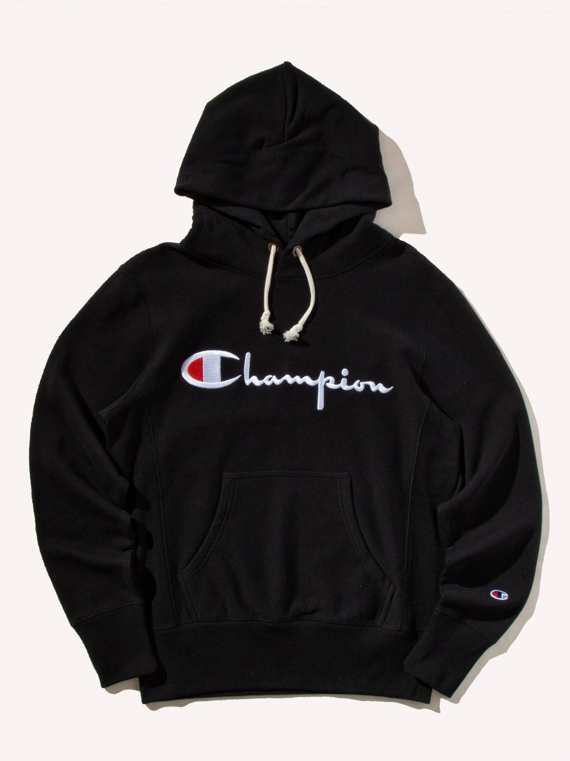Cream Logo Hooded Sweatshirt 1