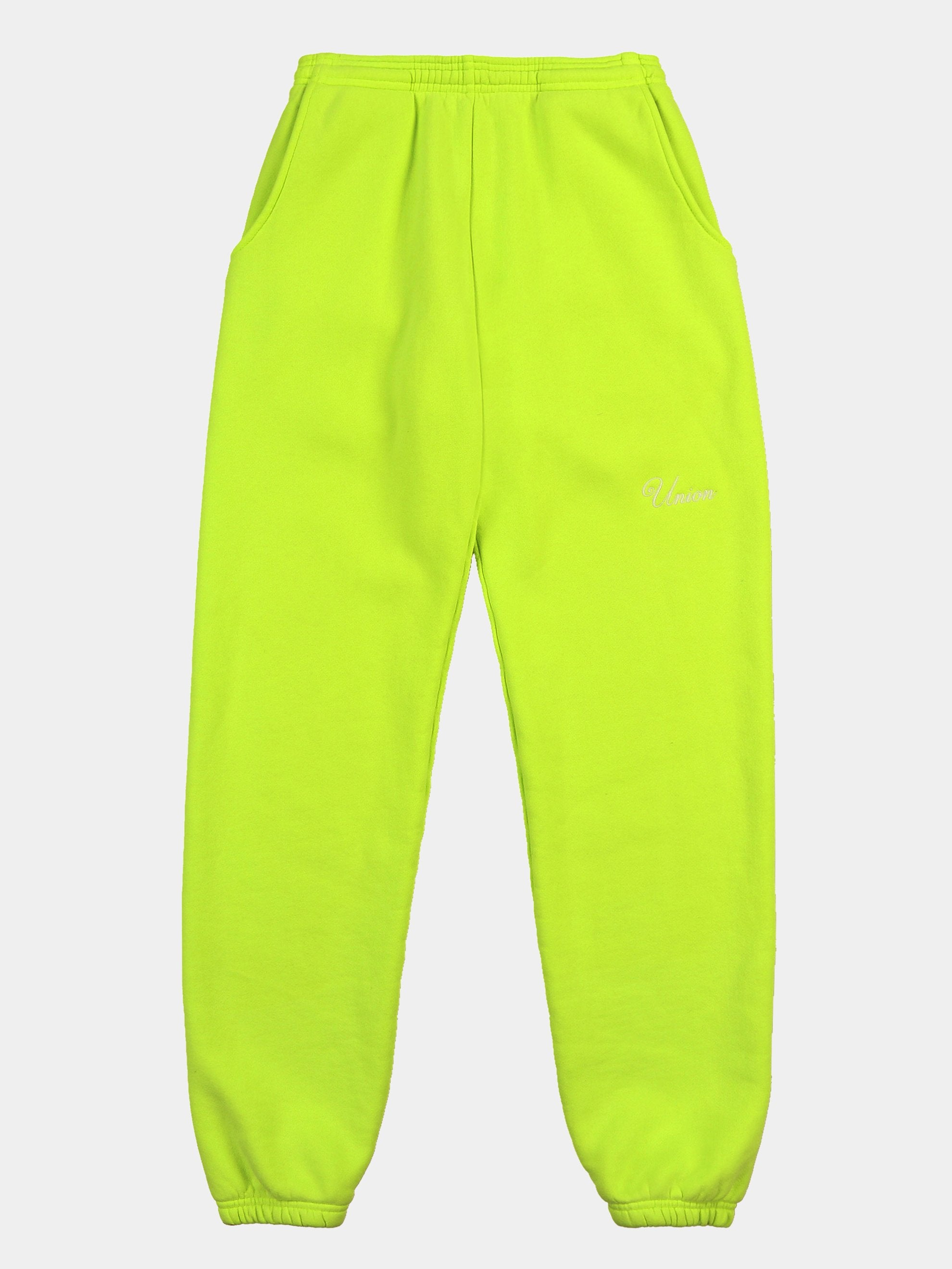 Neon Embroidered Sweat Pant 1