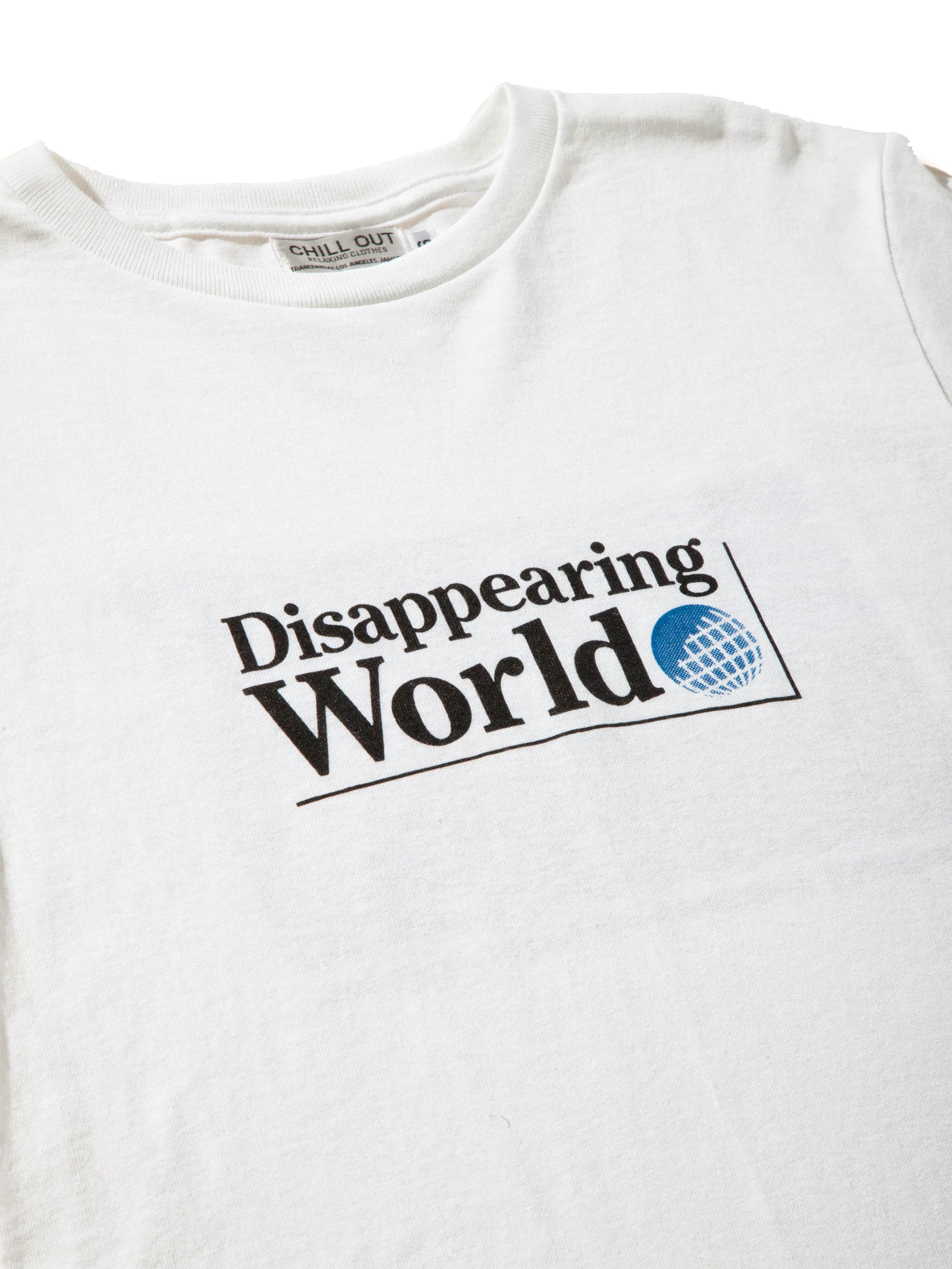 White Disappearing World T-Shirt 5