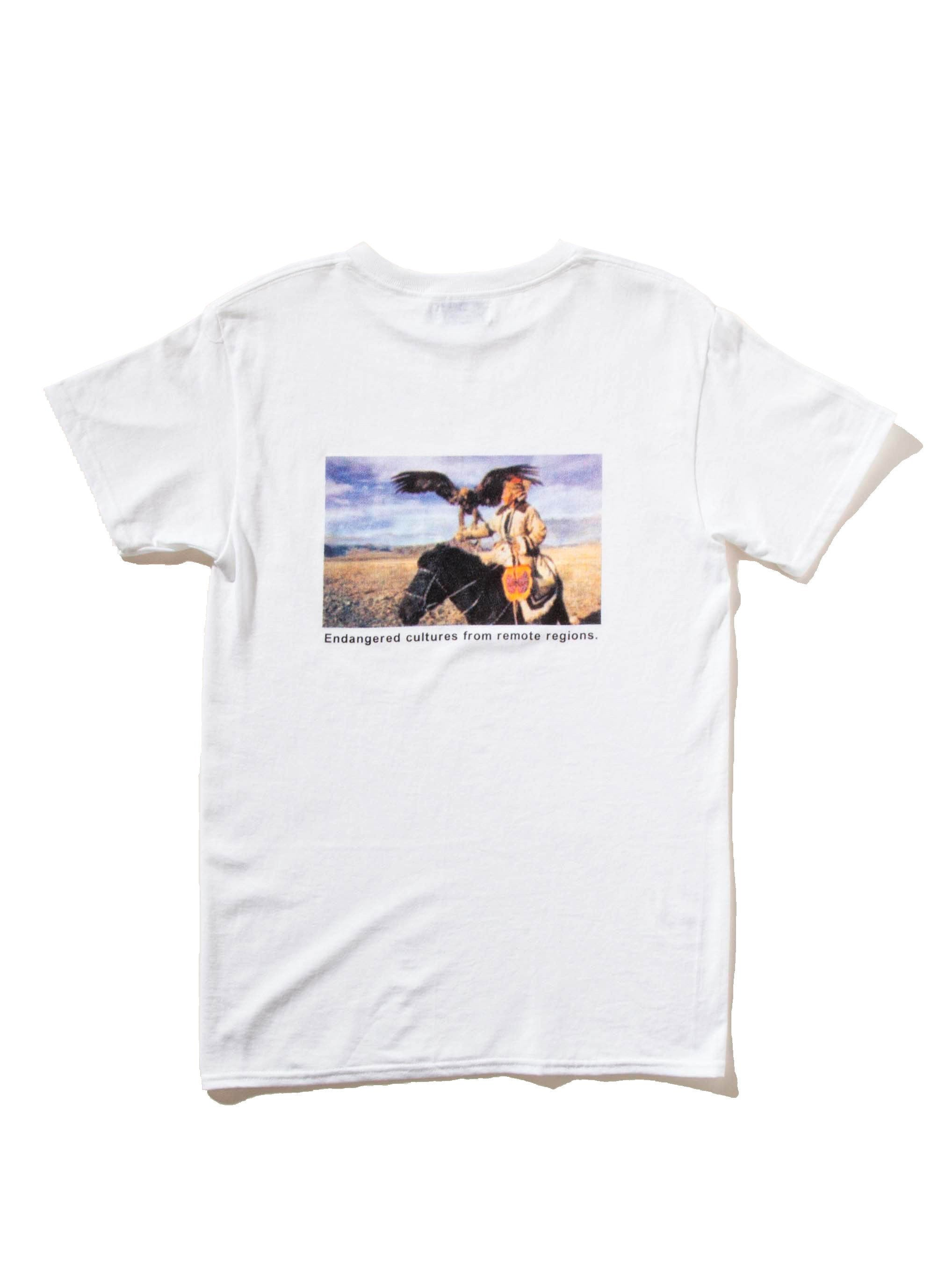 White Disappearing World T-Shirt 6