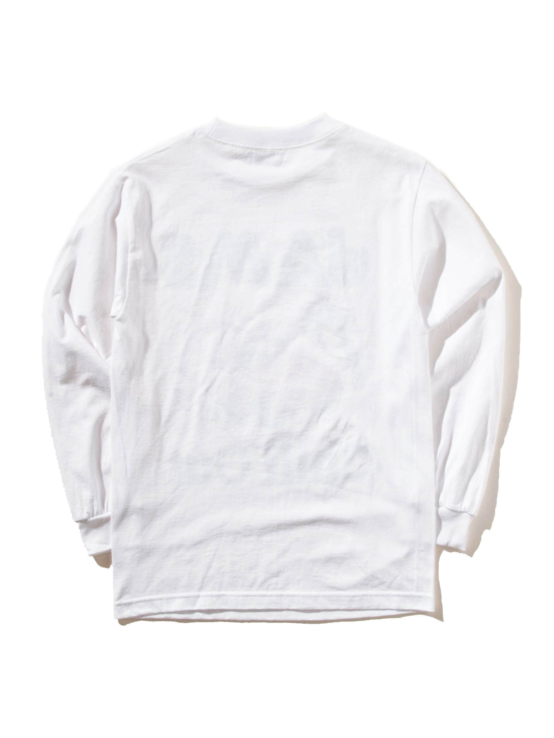 White Passing Breeze Long Sleeve T-Shirt 7