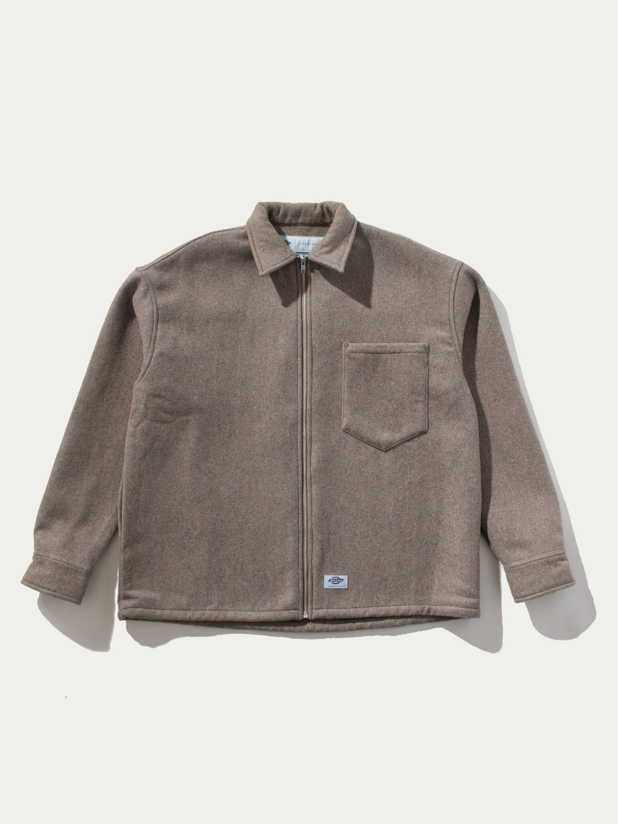 Oversize Zip Workshirt