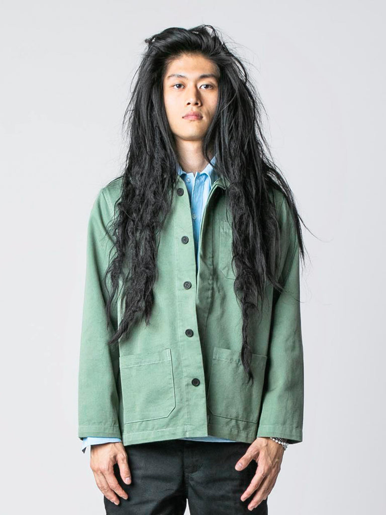 Worker Green / Pop Green Chore Jacket 213570547155021