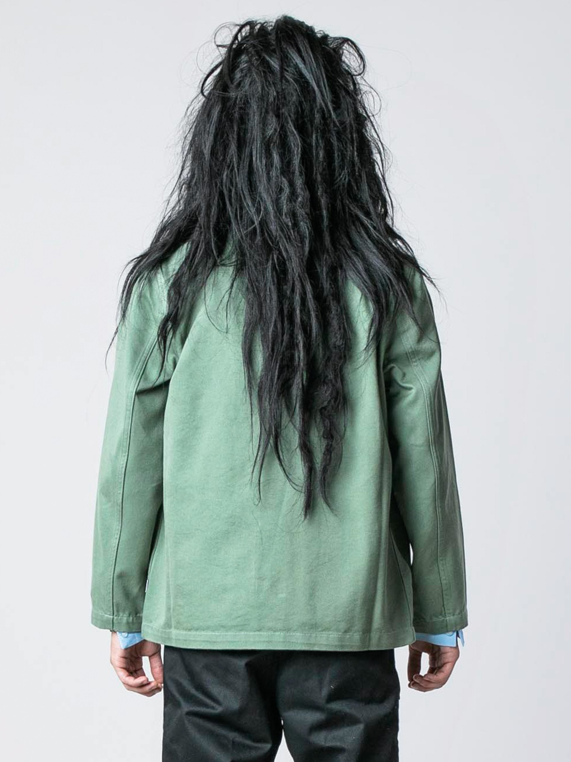 Worker Green / Pop Green Chore Jacket 6