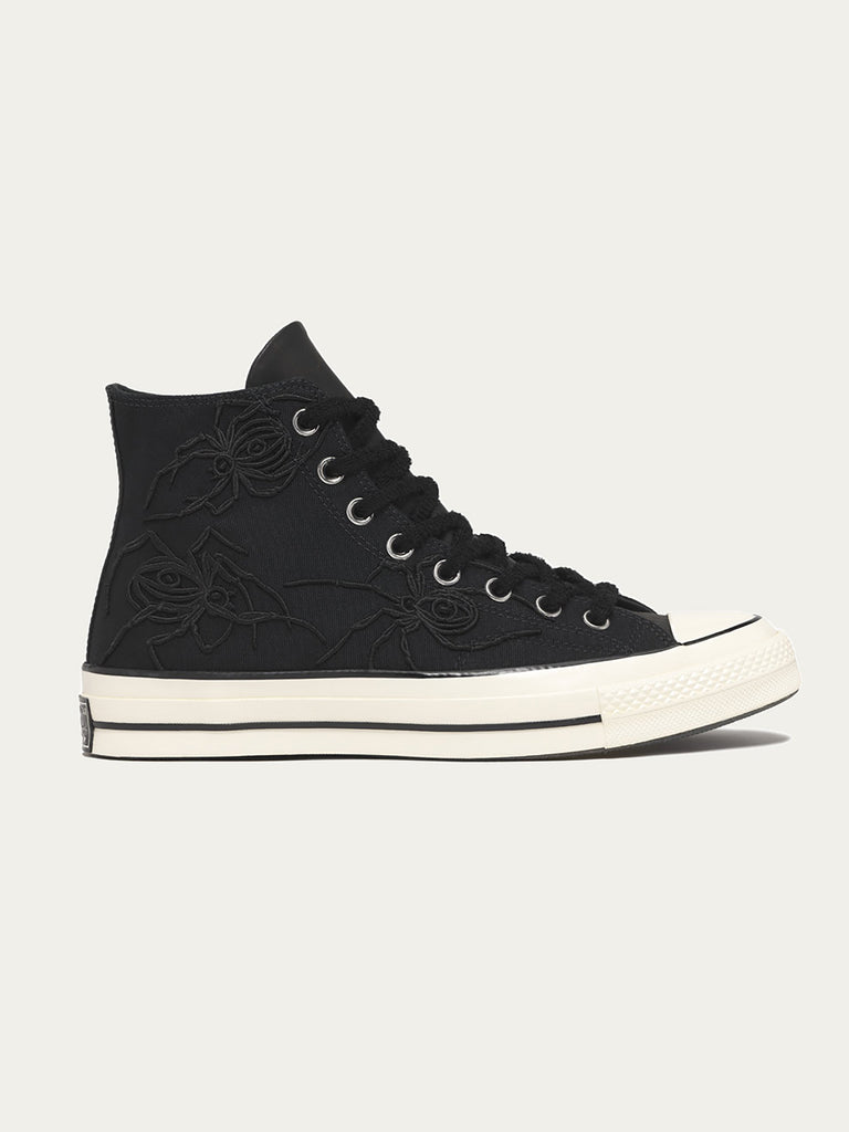 + Dr Woo 1970s Chuck Taylor All Star Embroidered Canvas High-top Sneakers - Off-whiteConverse lOLV5lJ
