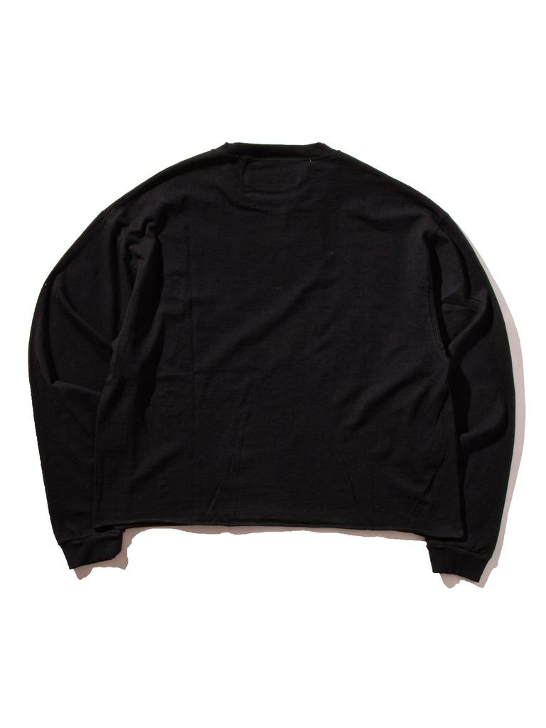 Black Ultimate Orgasam Long Sleeve Crew 723140181449