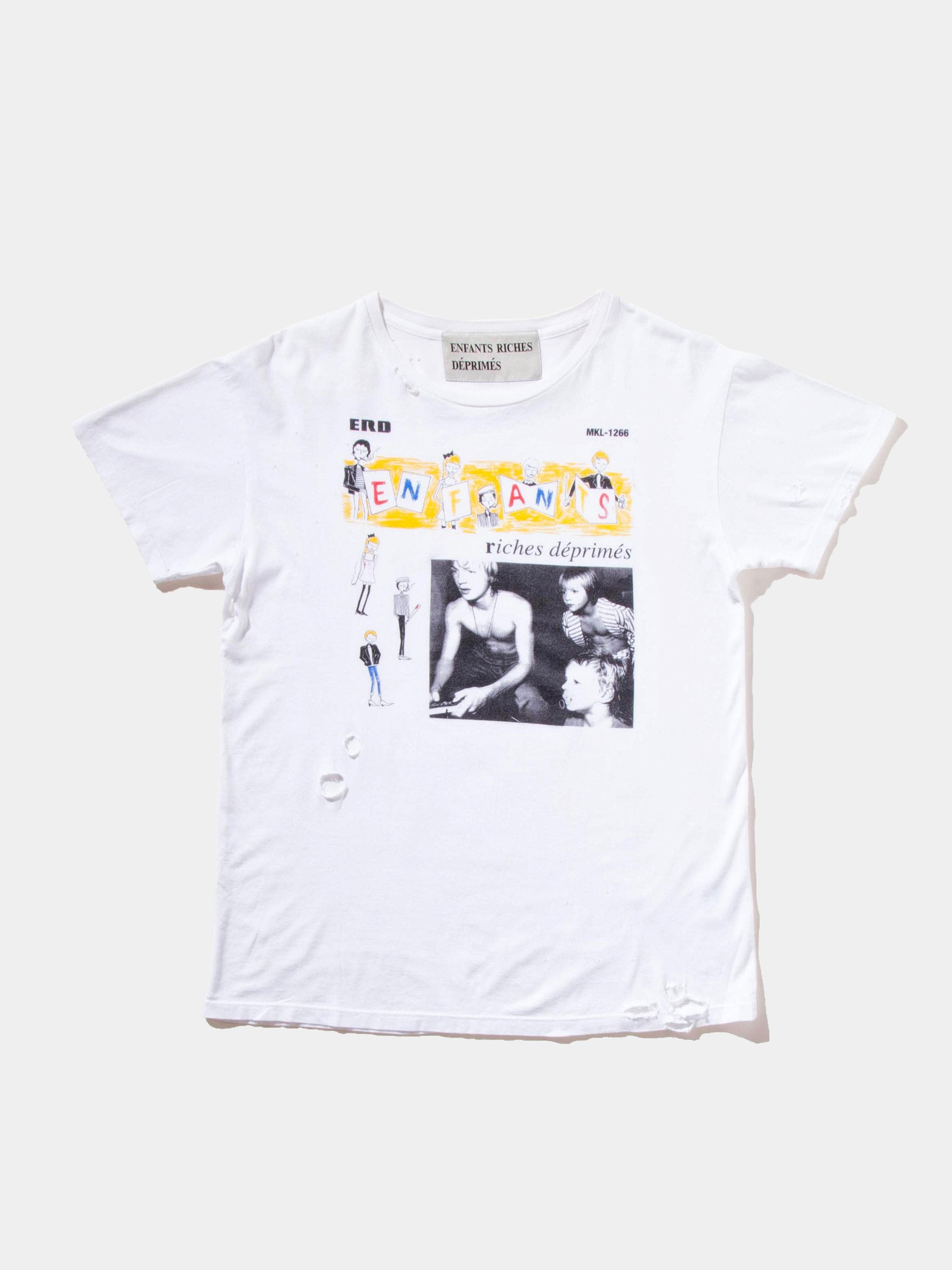 White Home School T-Shirt 1