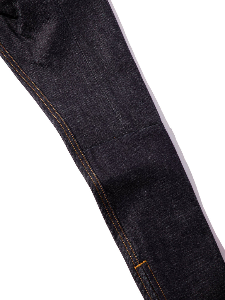 Raw Indigo Selvedge Paneled Denim Jean 813572202397773