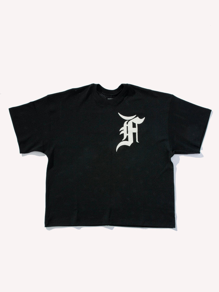 Black Mesh Tee (Union Exclusive) 713571859972173