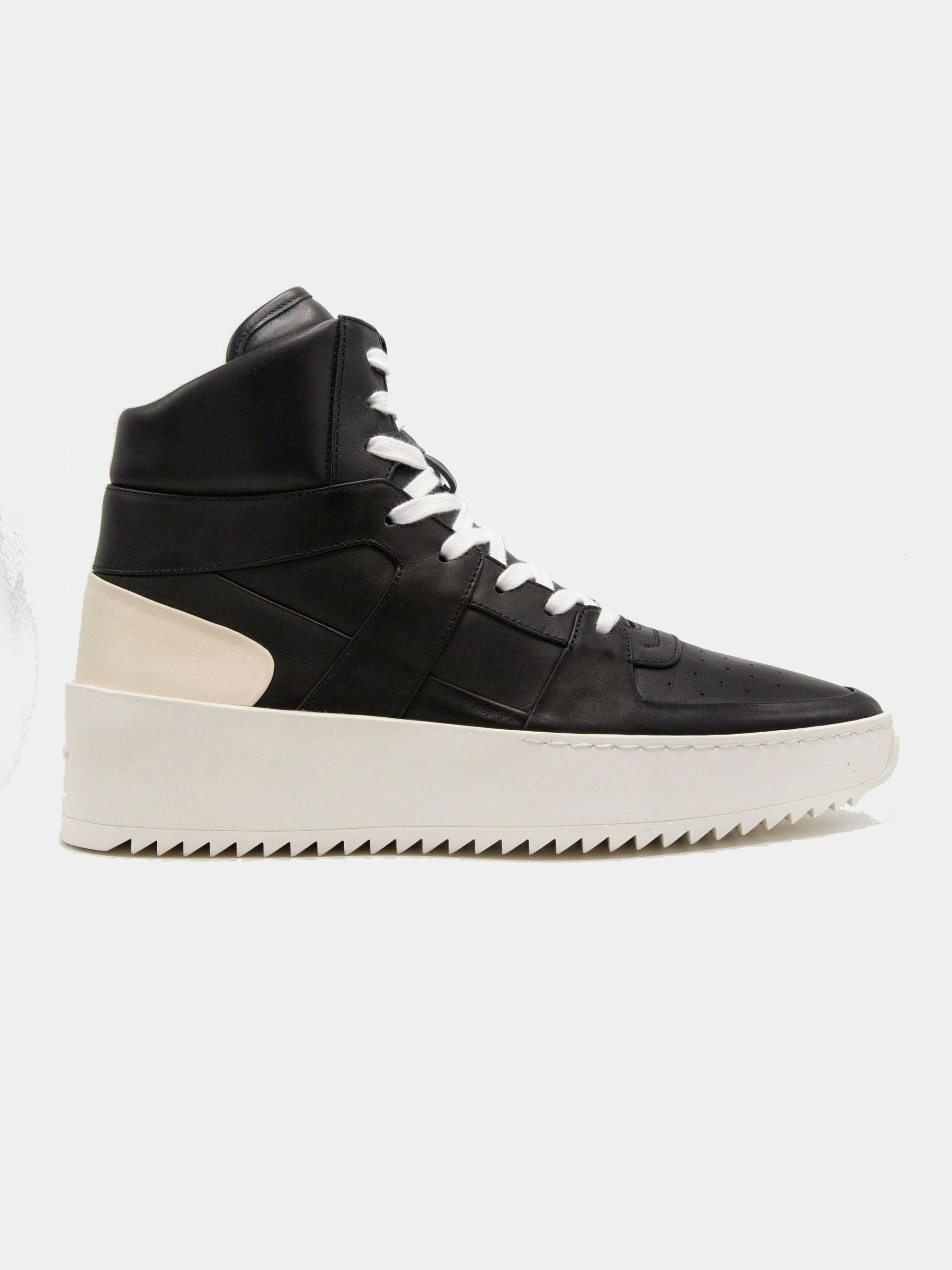 Black/Cream Basketball Sneakers (Union Exclusive) 1