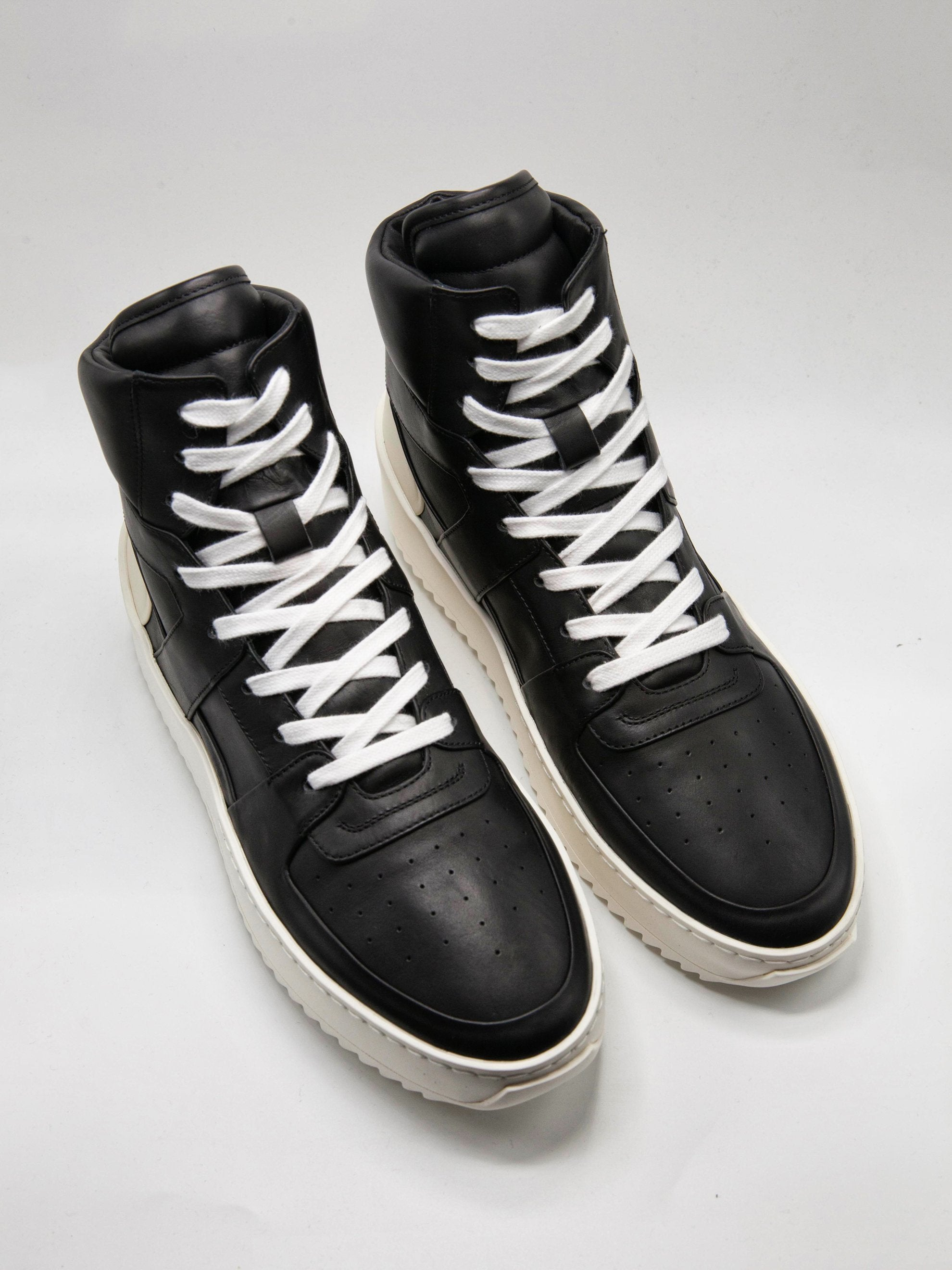 Black/Cream Basketball Sneakers (Union Exclusive) 2