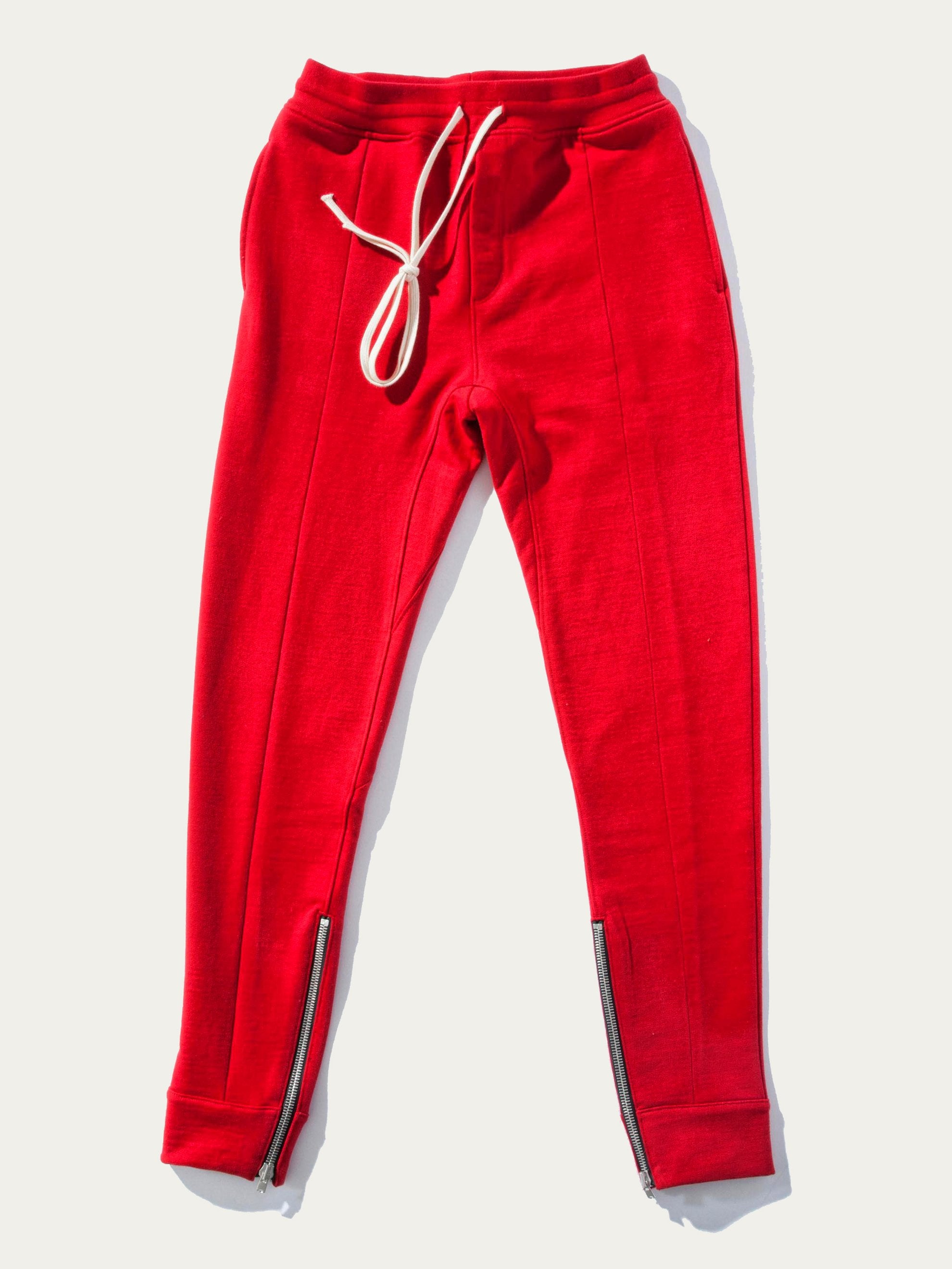 Red Heavy Terry Everyday Sweatpant 1