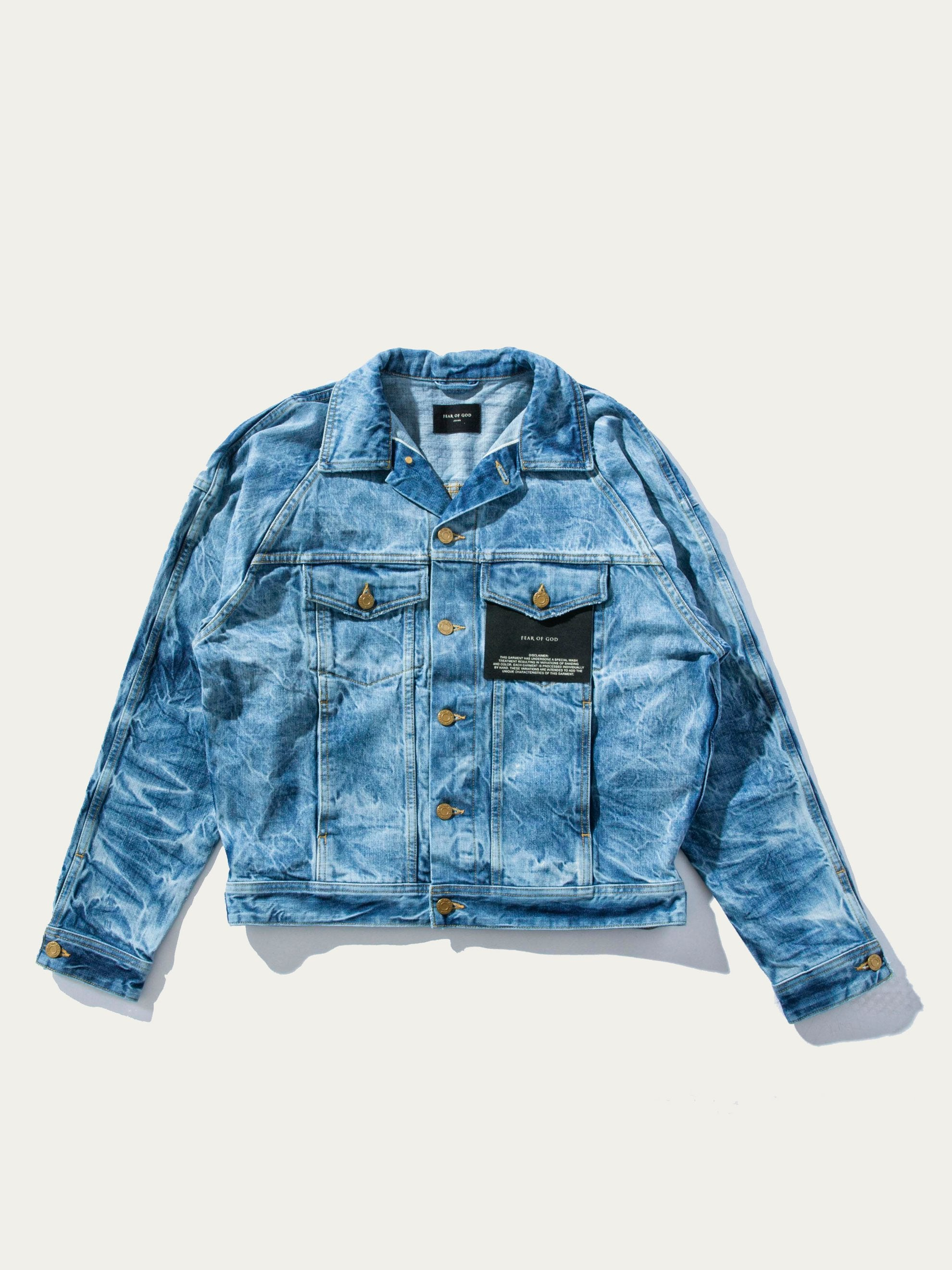 Indigo Holy Water Trucker Jacket 1