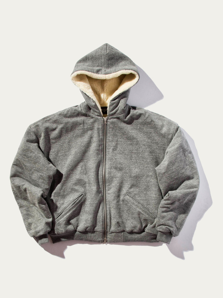 Heavy Terry Alpaca Hooded Sweatshirt