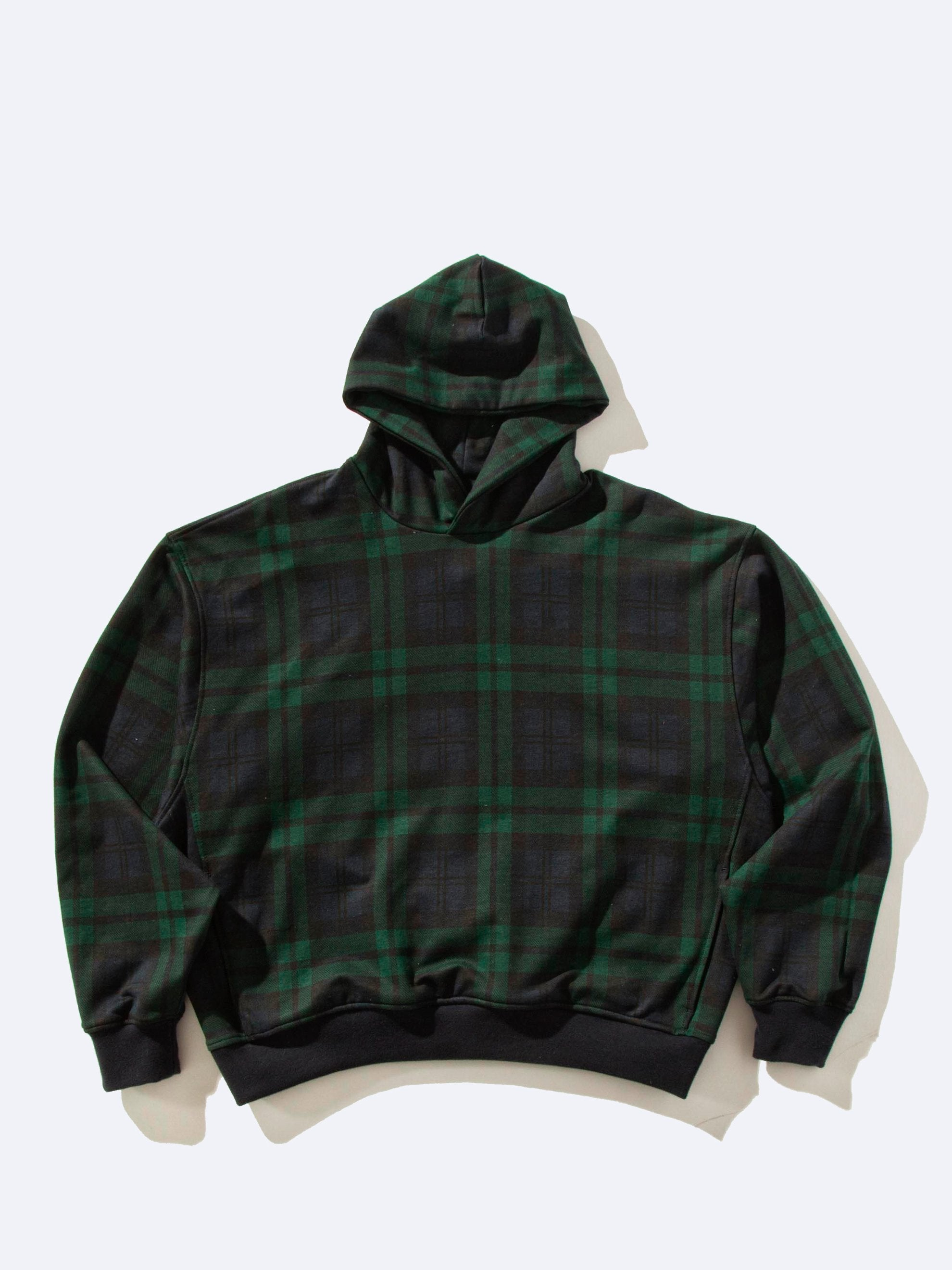 Green Plaid Everyday Hoodie 1