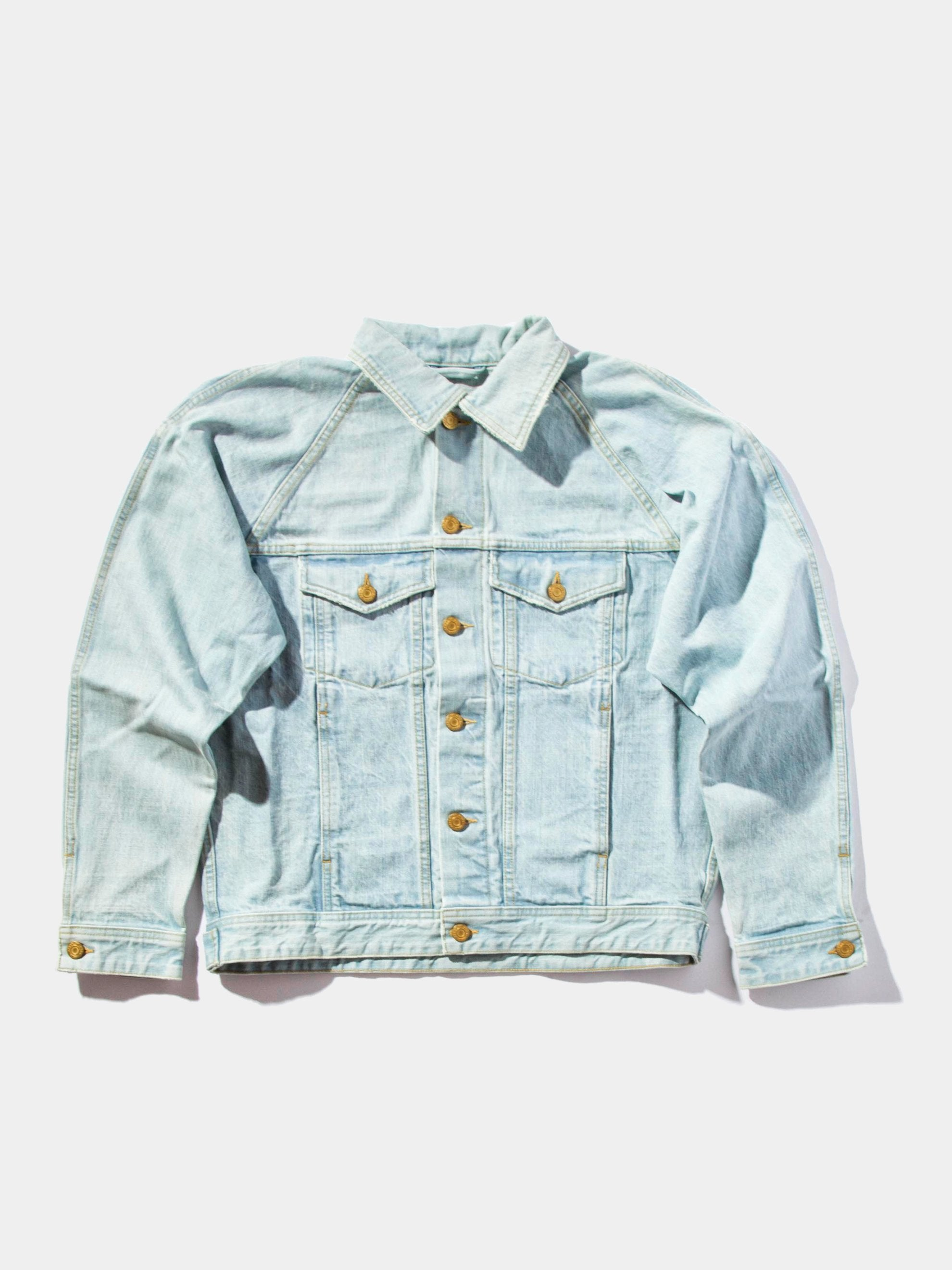 Selvedge Denim Trucker Jacket