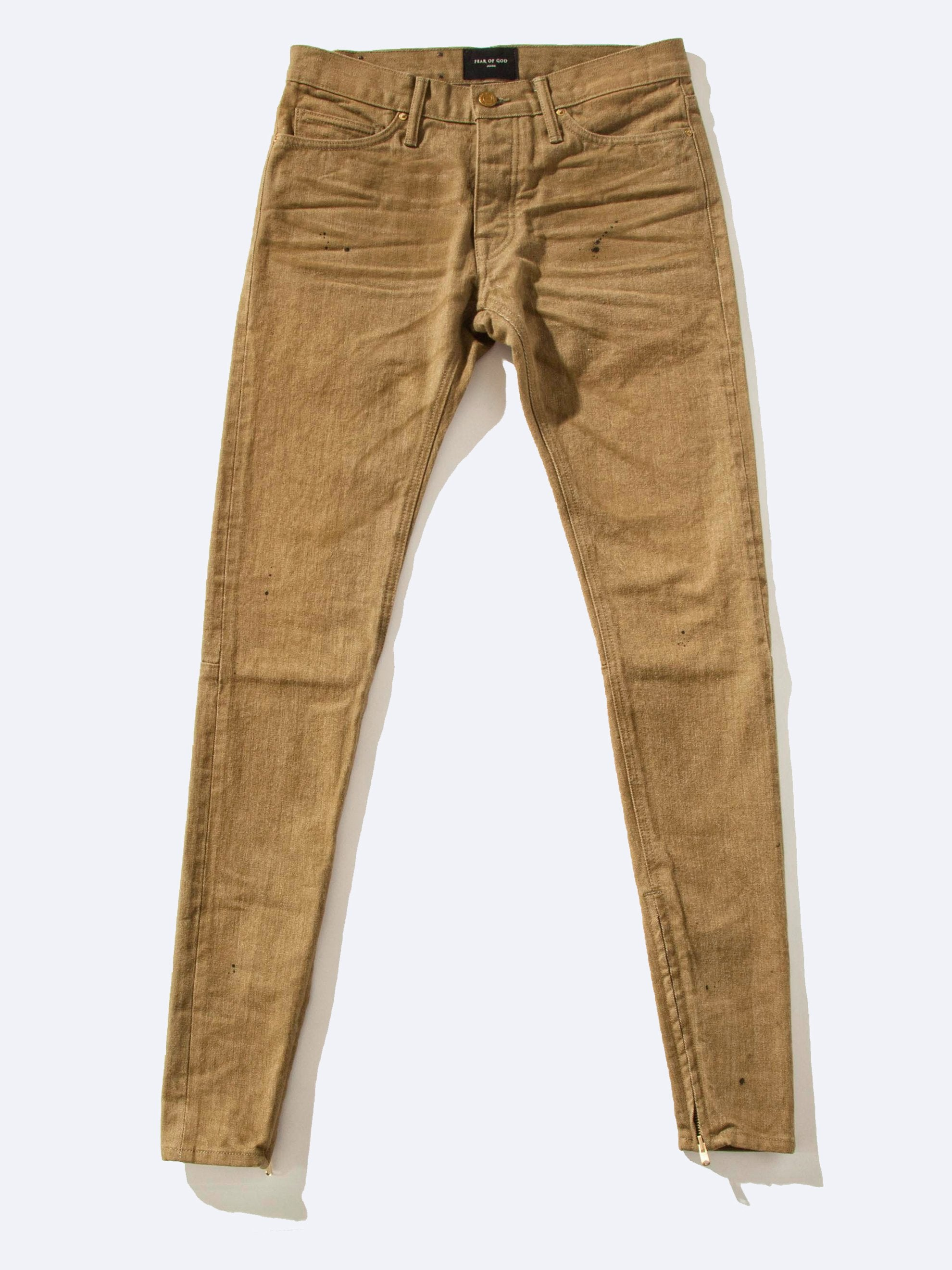 Vintage Gold Selvedge Denim Jean 1