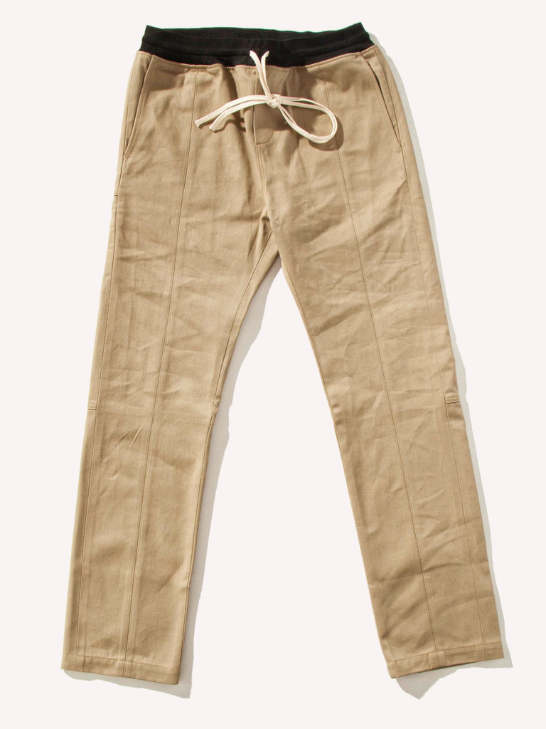 Selvedge Drawstring Chino Trouser