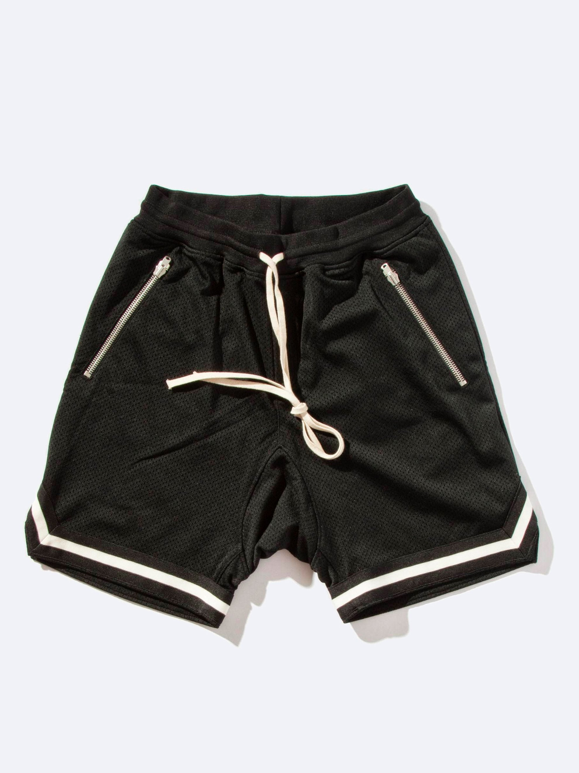 Mesh Drop Crotch Short