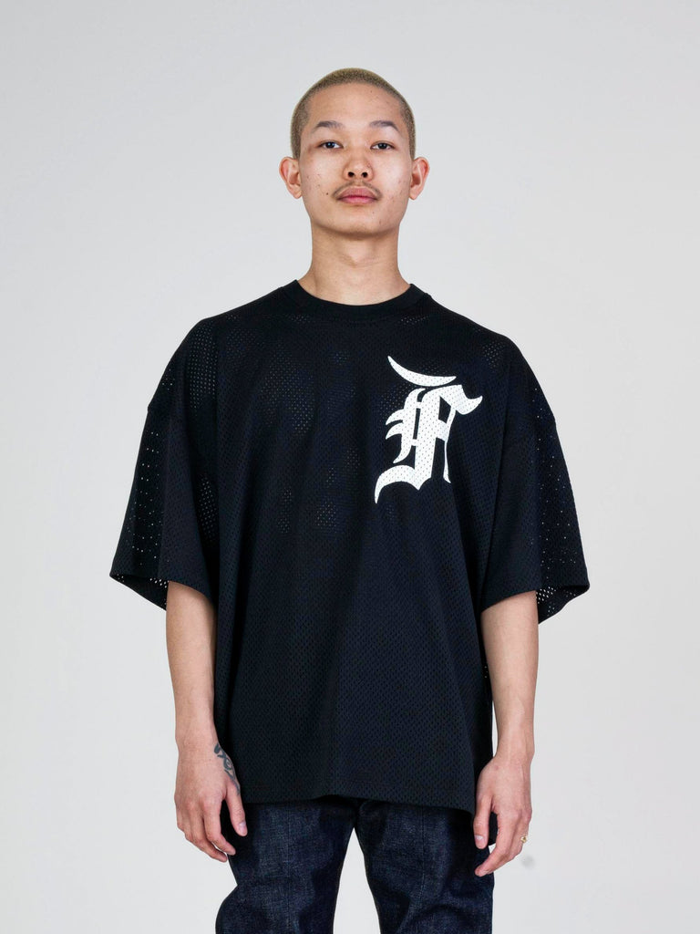 Black Mesh Tee (Union Exclusive) 213571859808333