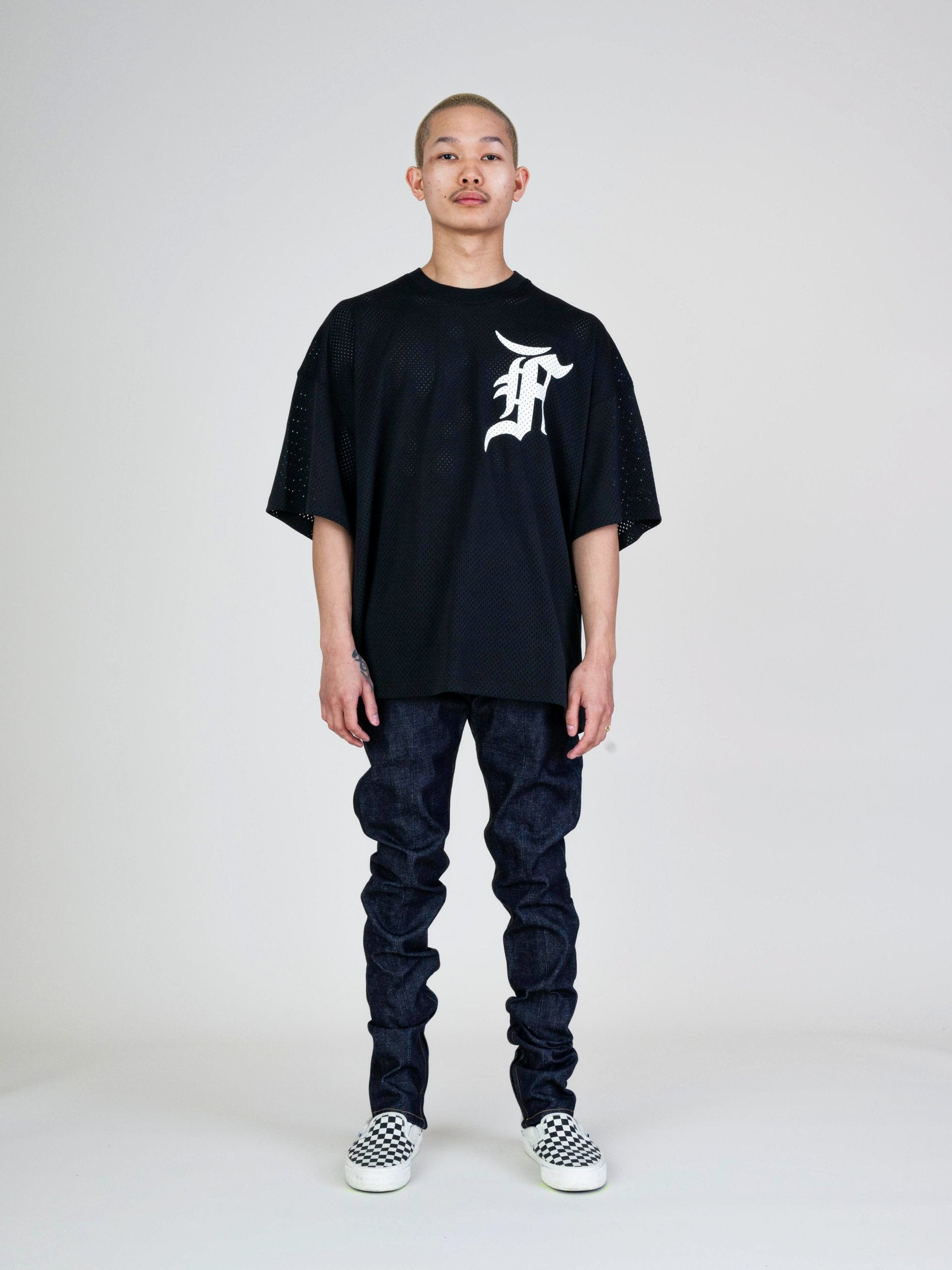 Black Mesh Tee (Union Exclusive) 3