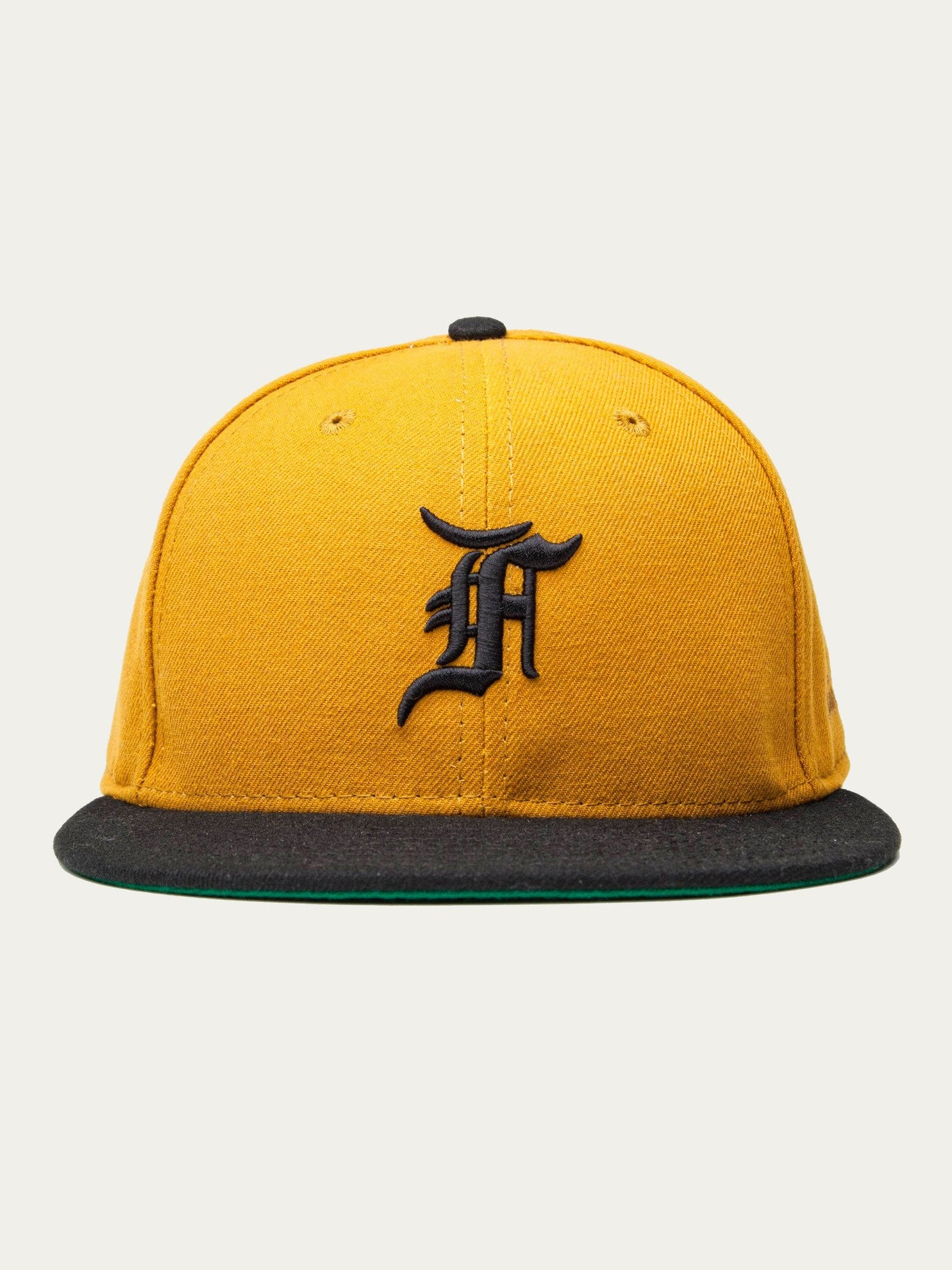 Gold New Era Fitted Cap (59FIFTY) 1