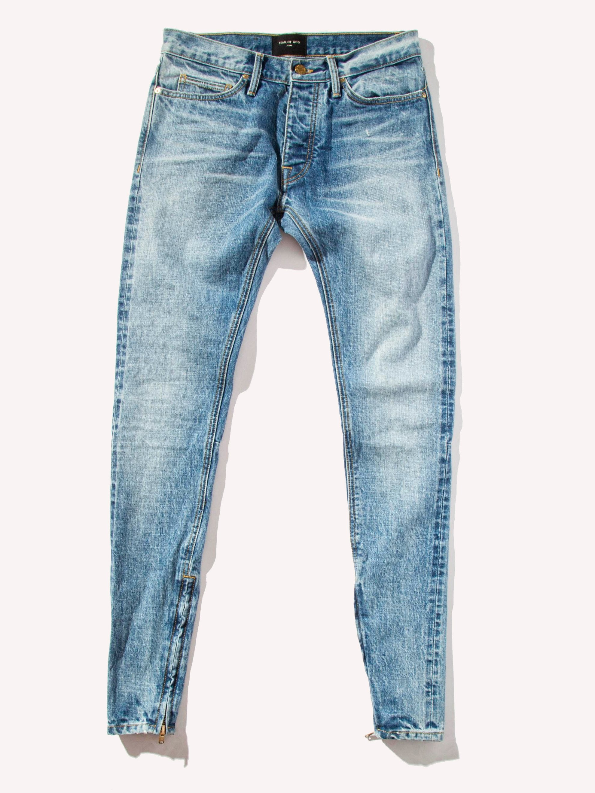 Vintage Indigo The Vintage Wash Selvedge Denim Jean 1