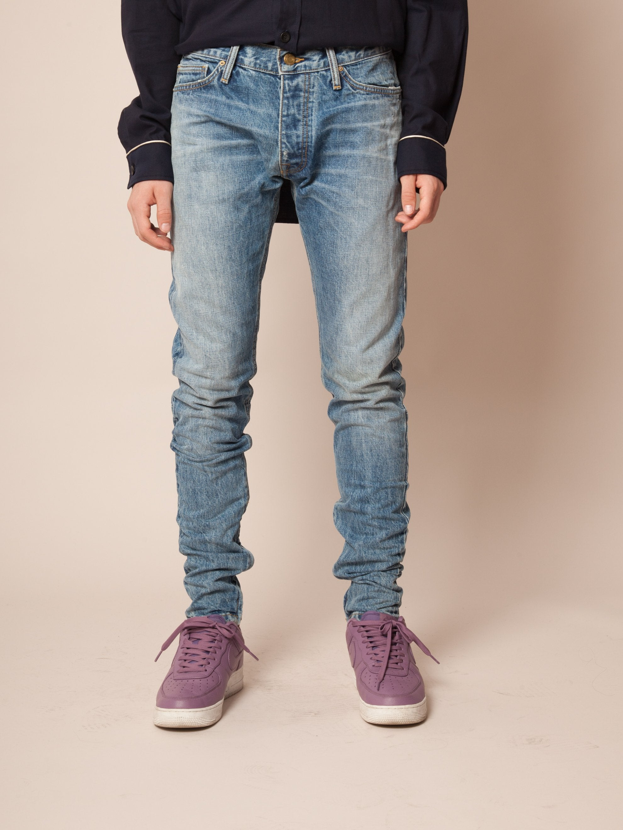 Vintage Indigo The Vintage Wash Selvedge Denim Jean 3