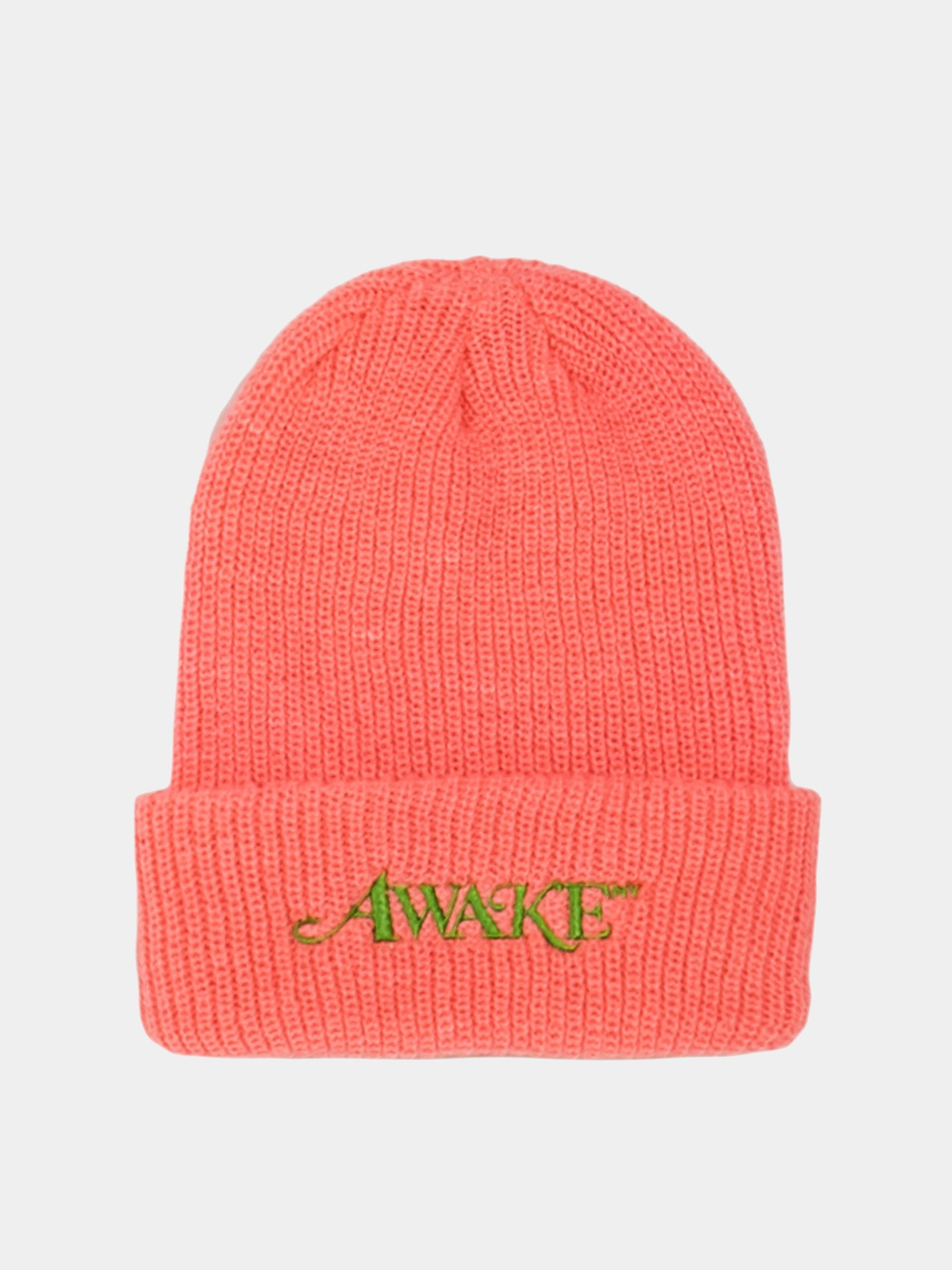 Hot Pink Loose Gauge Classic Logo Beanie 1