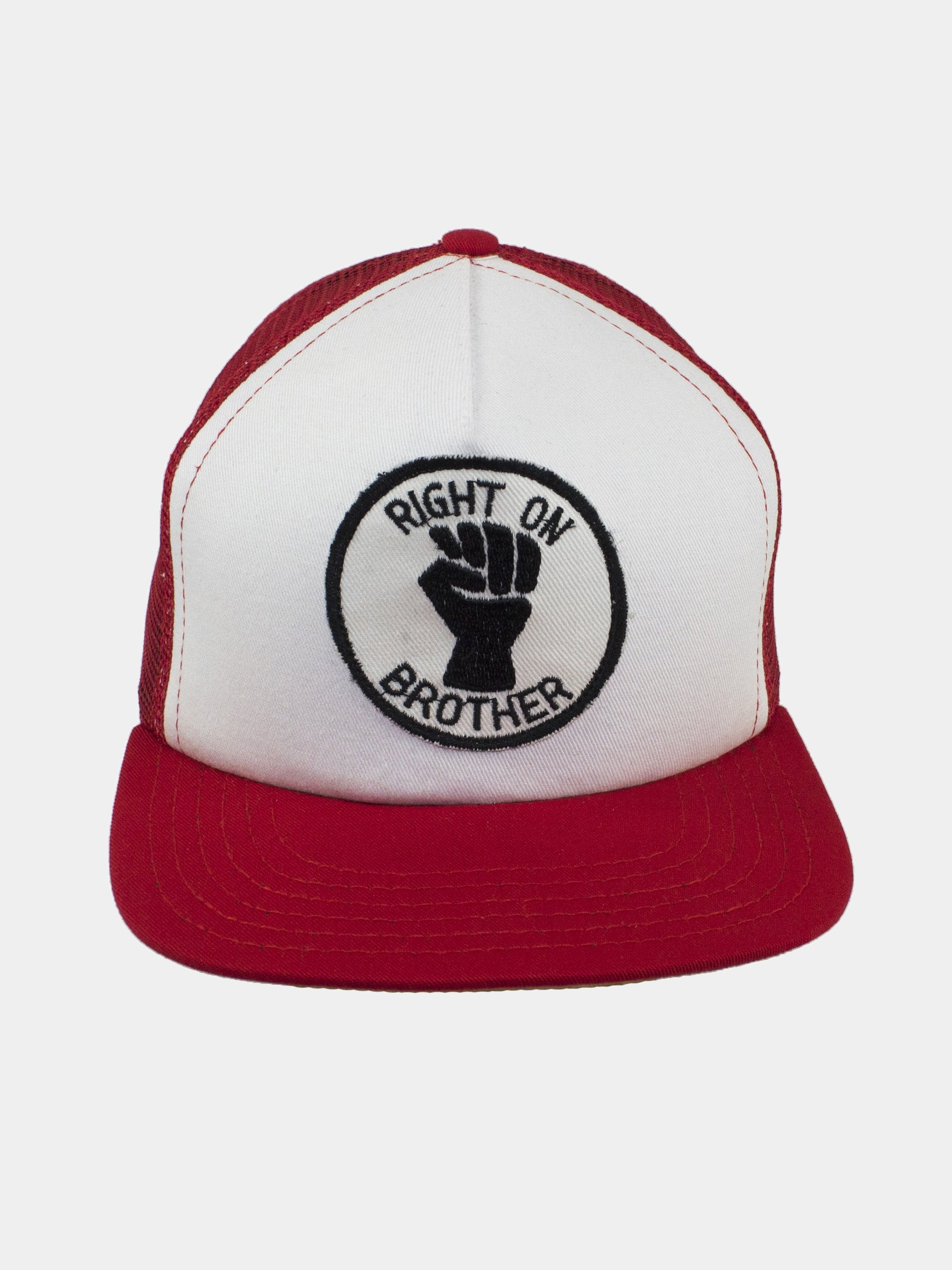 Red Hat/White Patch Right On Brother 1