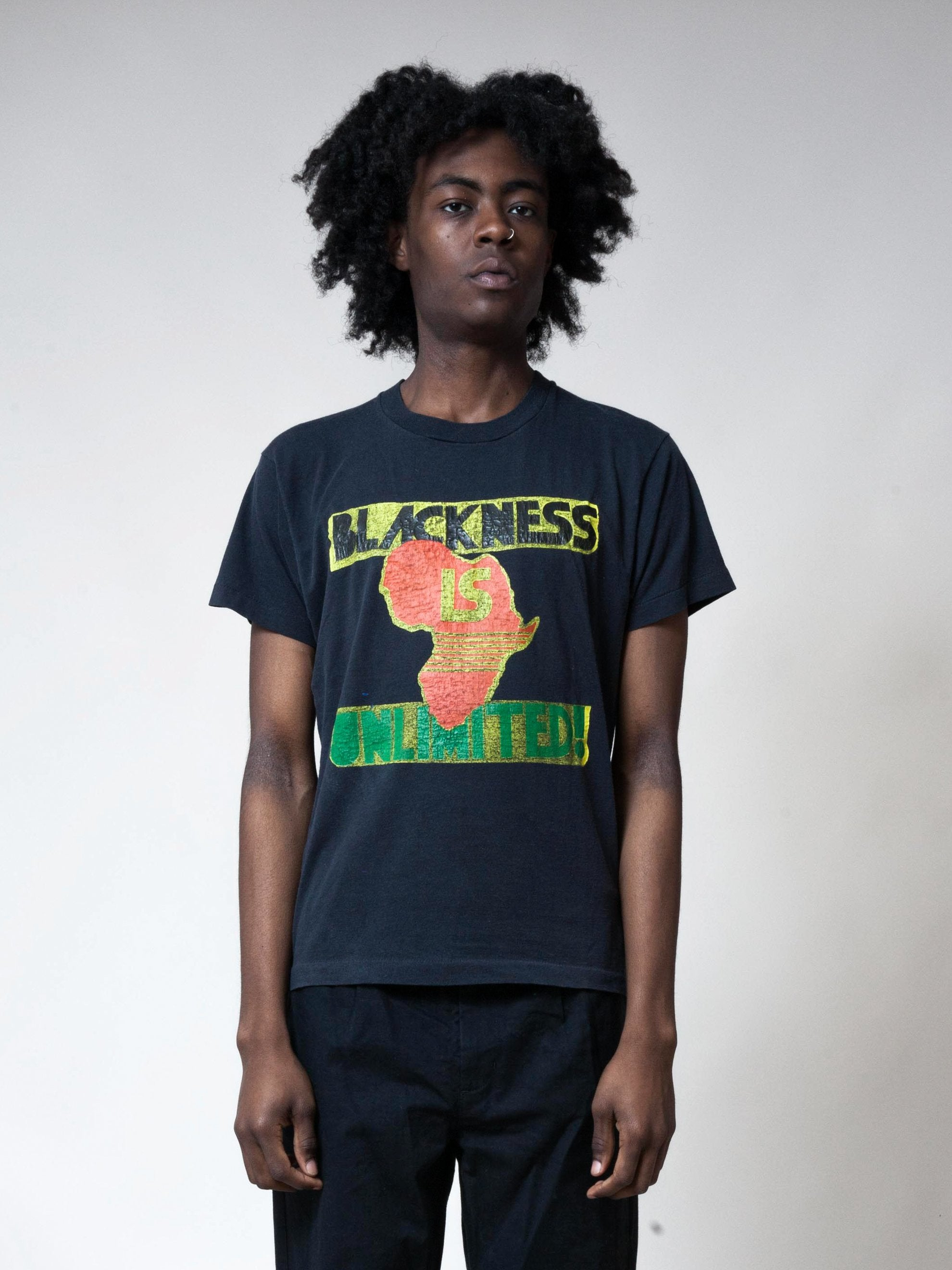 Black 1980's Blackness is Unlimited! T-Shirt 2