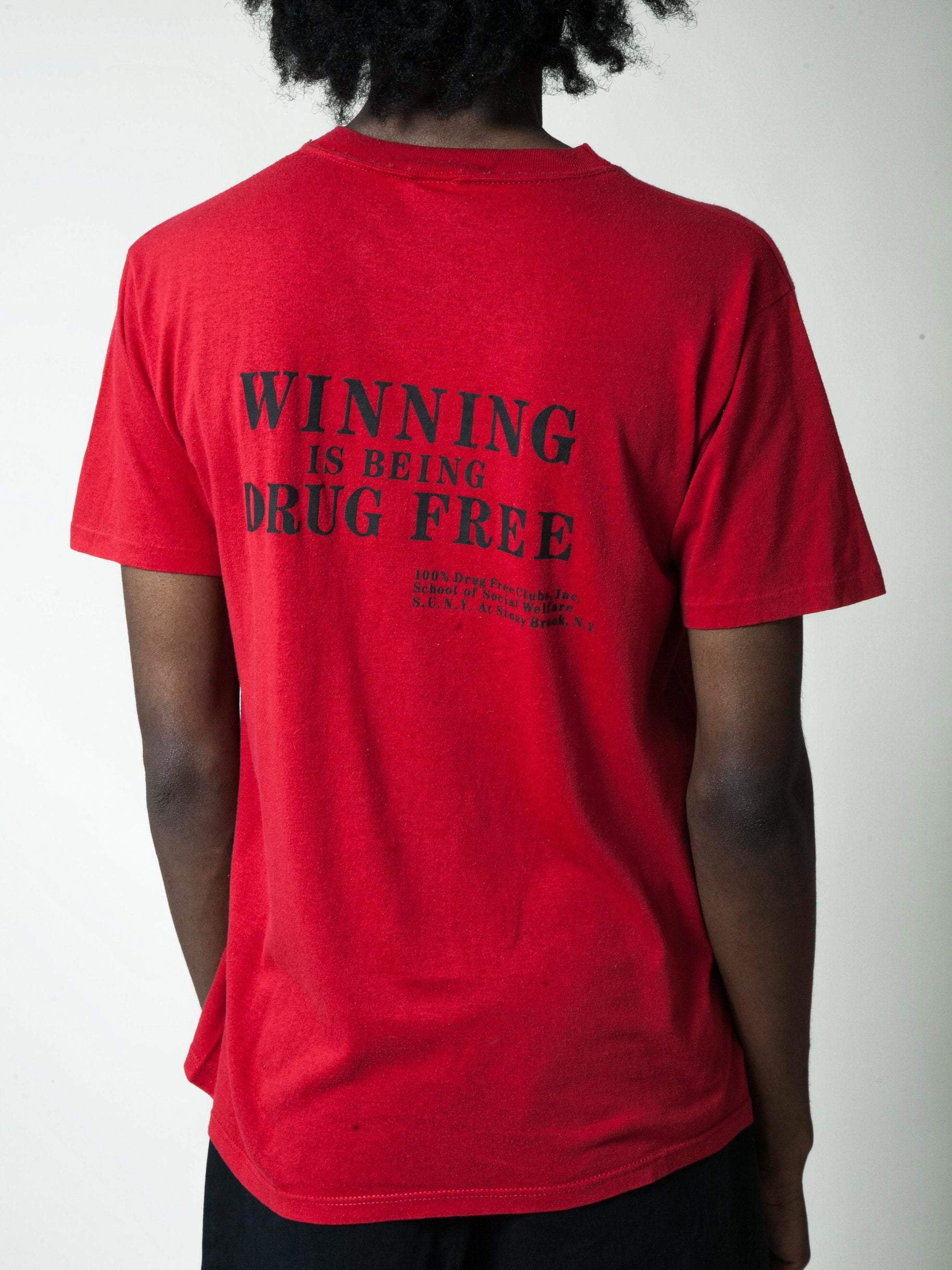Red 1990's African American Pride T-Shirt 7