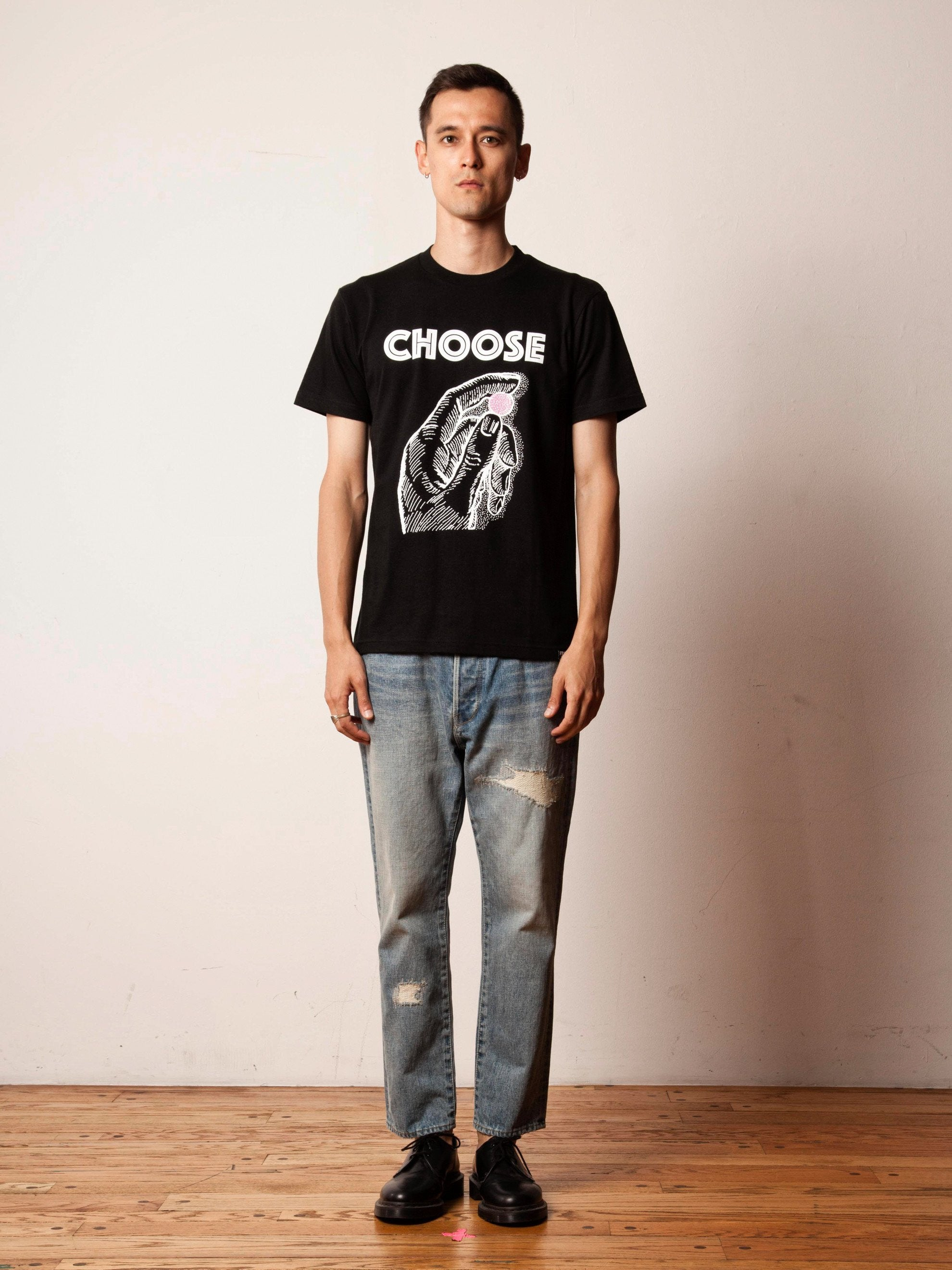 Black Choose T-Shirt 2