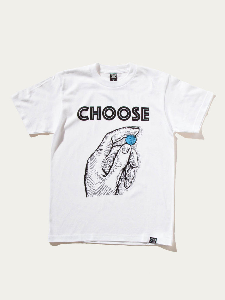 White Choose T-Shirt 922303981641