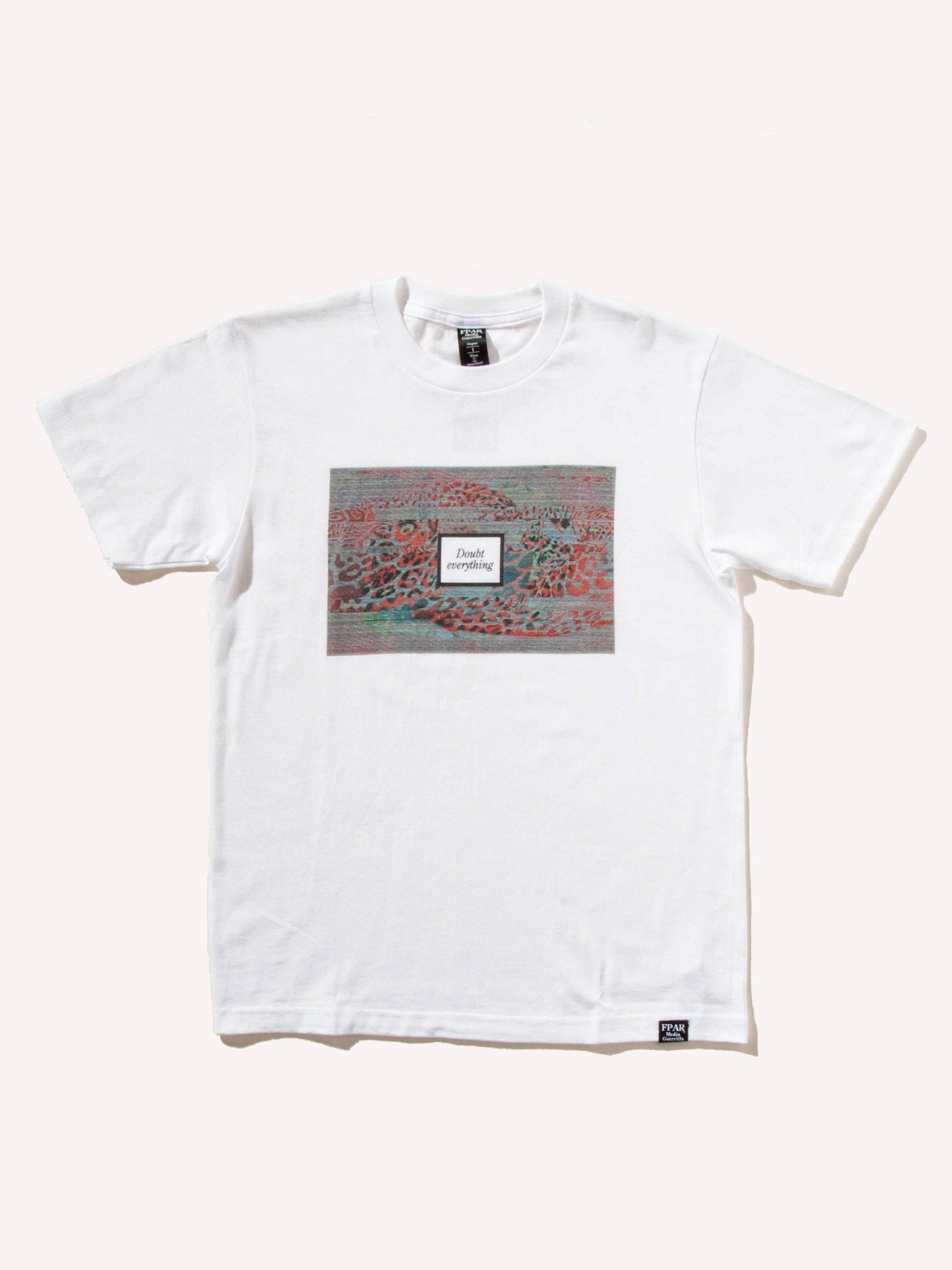 White Doubt Everything T-Shirt 1