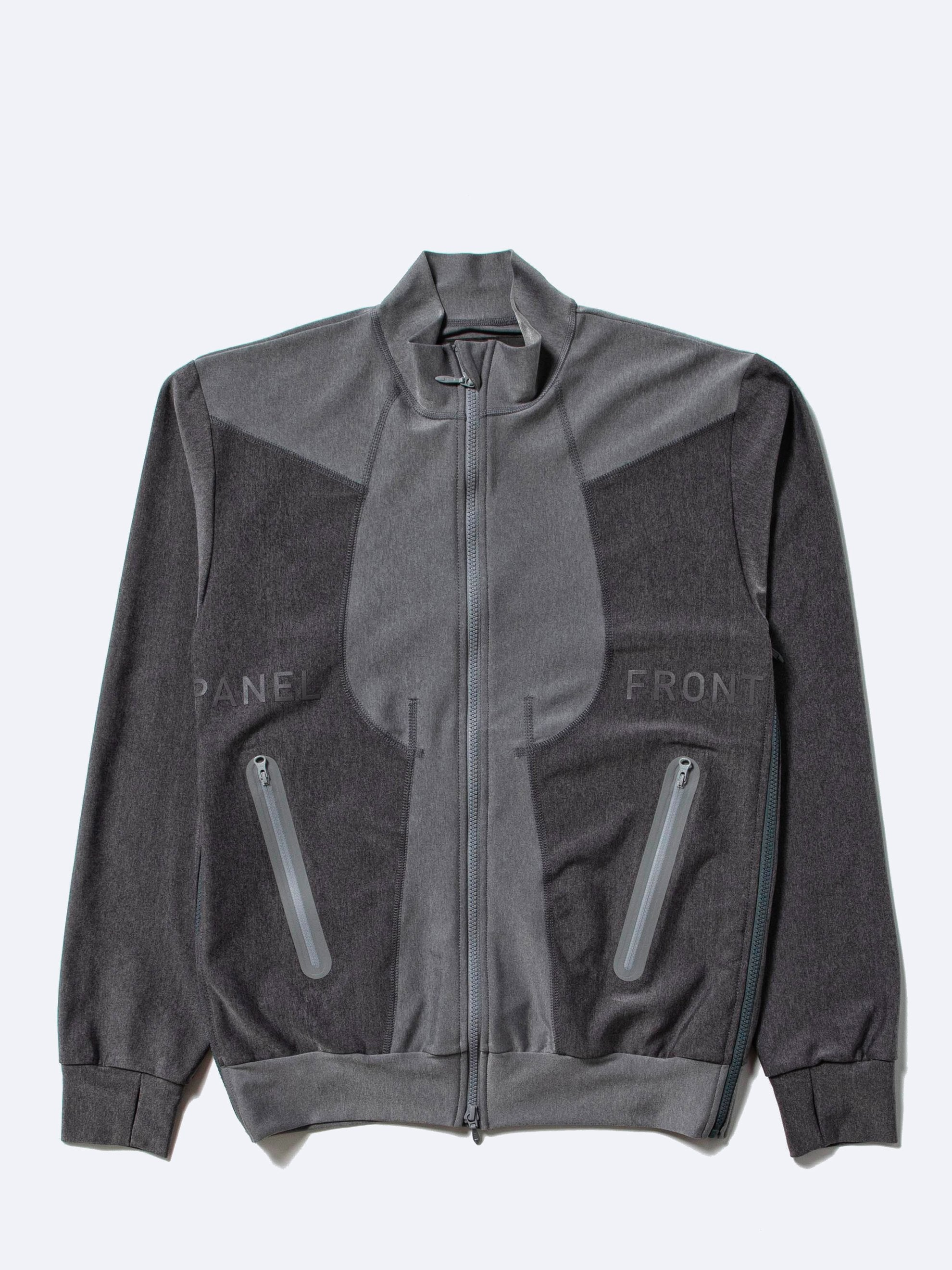 Charcoal Grey Quick-Dry Zip Sweater 1