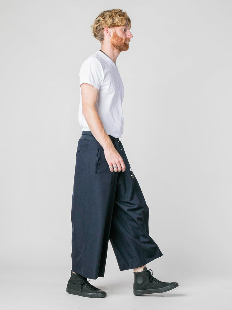 Navy Woven Judo Trousers 613570250276941