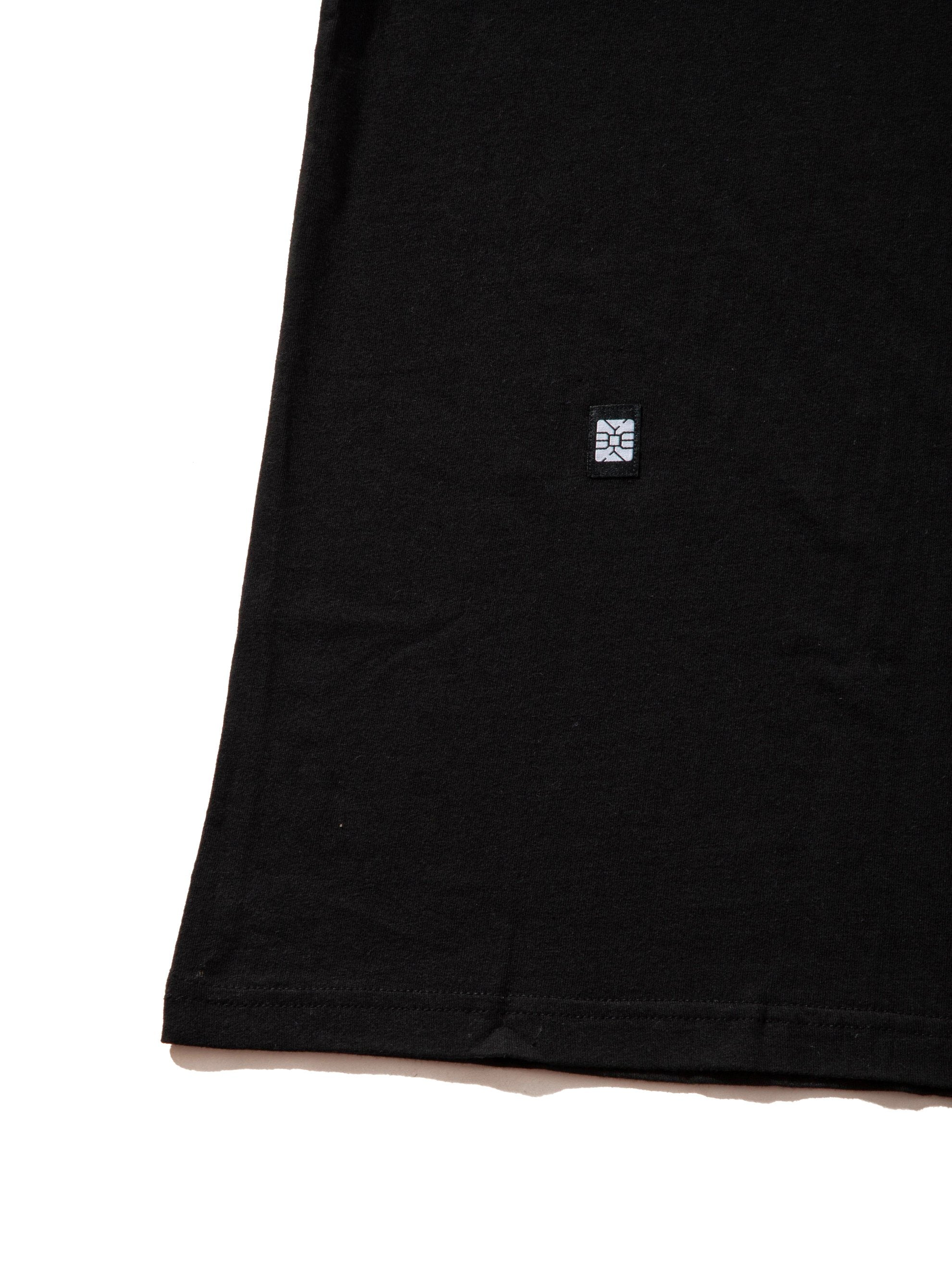 Black Whoa Logo T-Shirt 8
