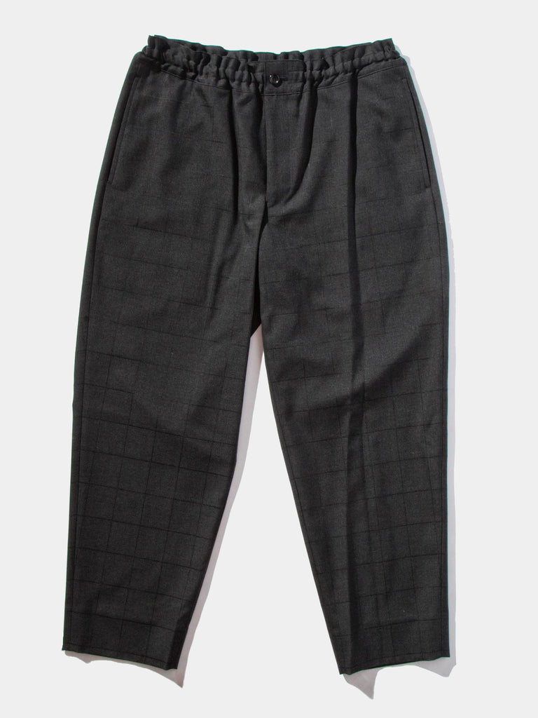 Cropped Grid Trouser