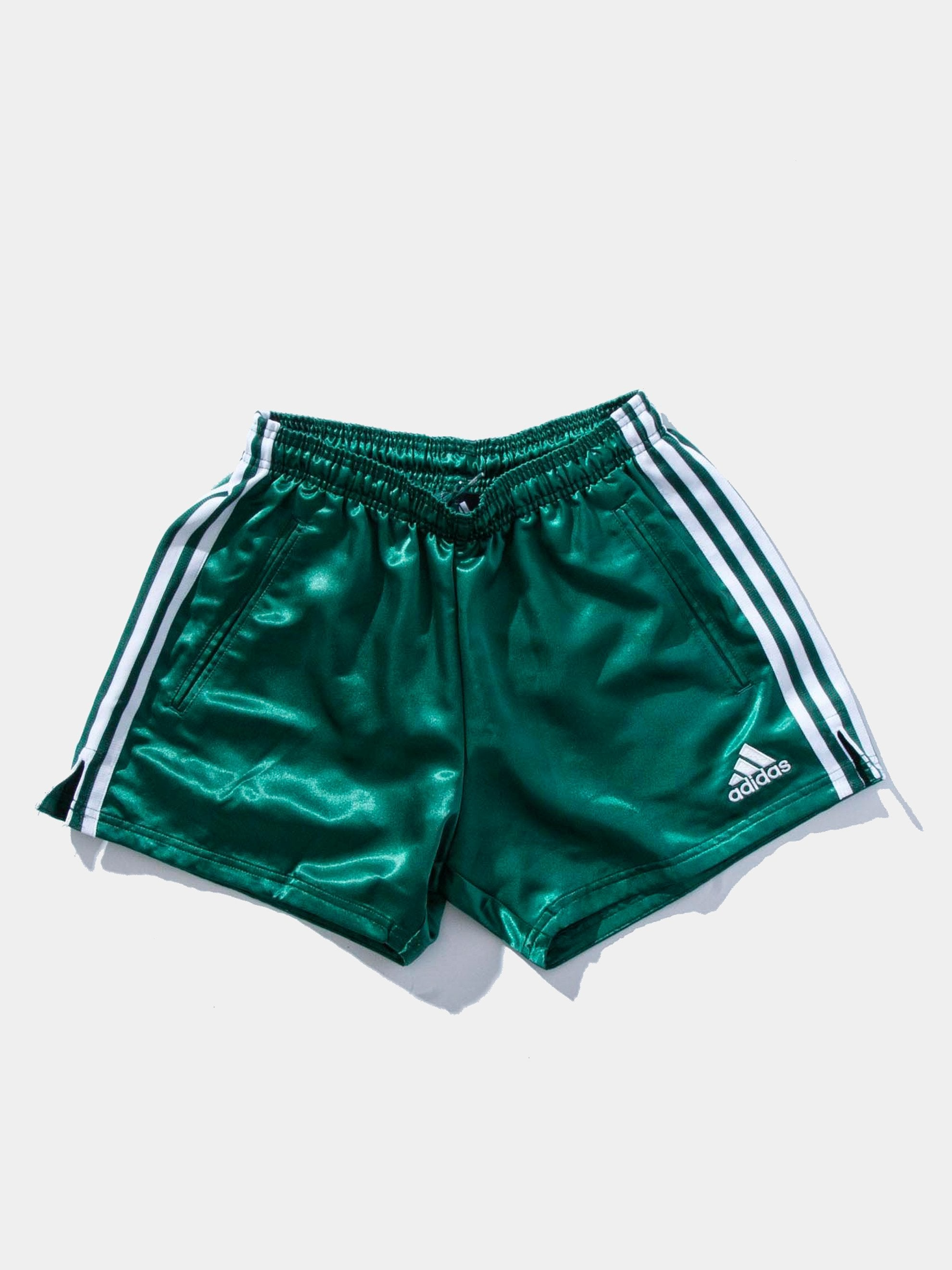 Forest Green Adidas Soccer Shorts 1