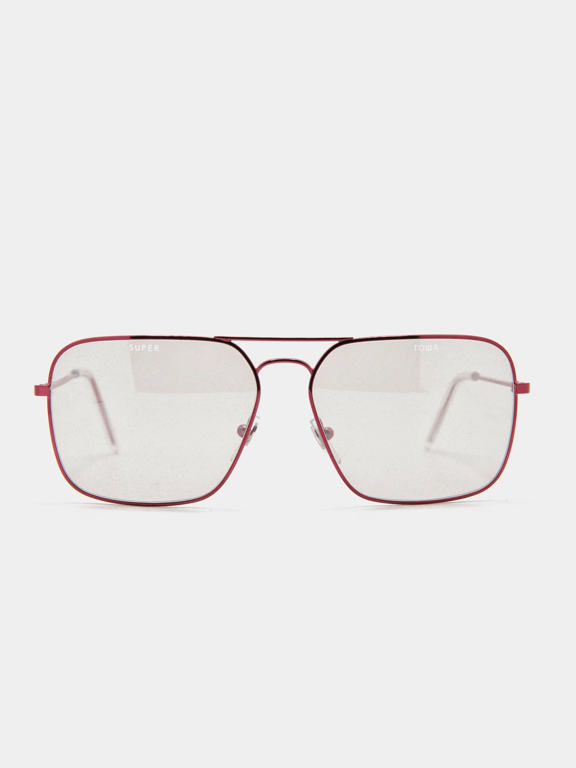 Metallic Red Iggy Sunglasses 1
